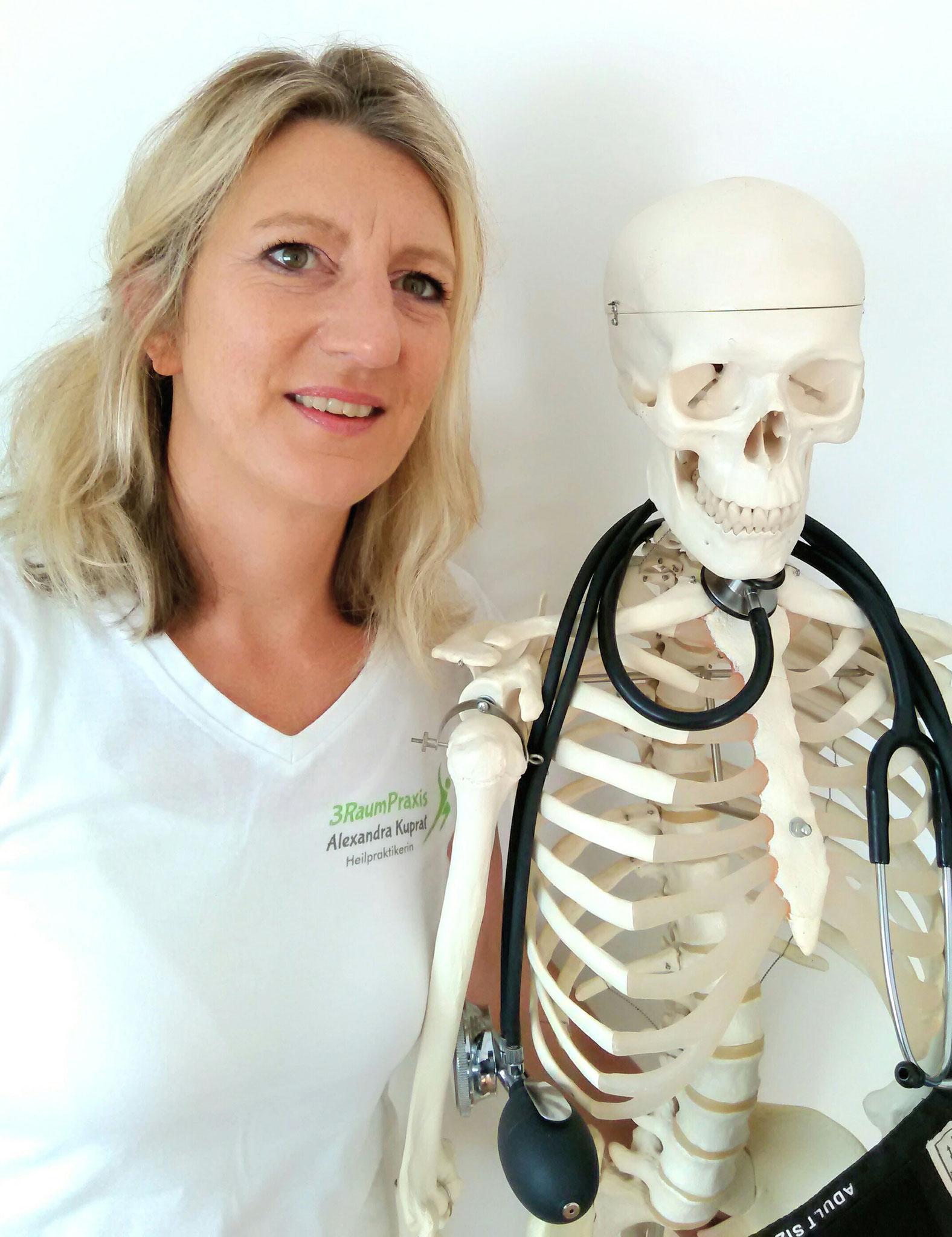 Alexandra Kuprat, Heilpraktikerin, Dozentin für Faszien-Therapie