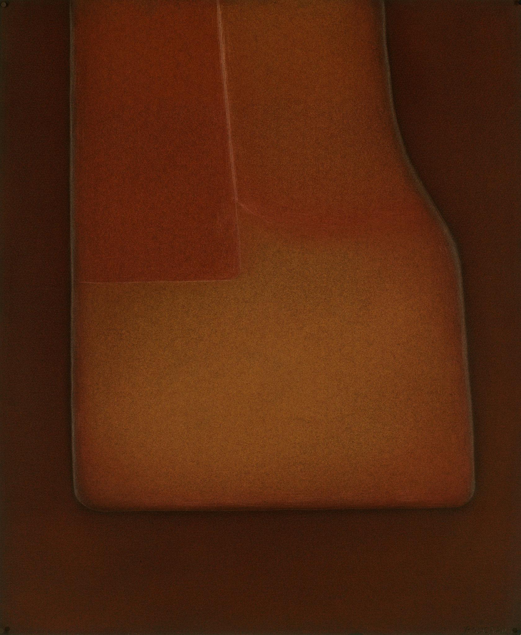 1977. 69,7 x 58 cm. Papier en relief avec encres d'imprimerie.