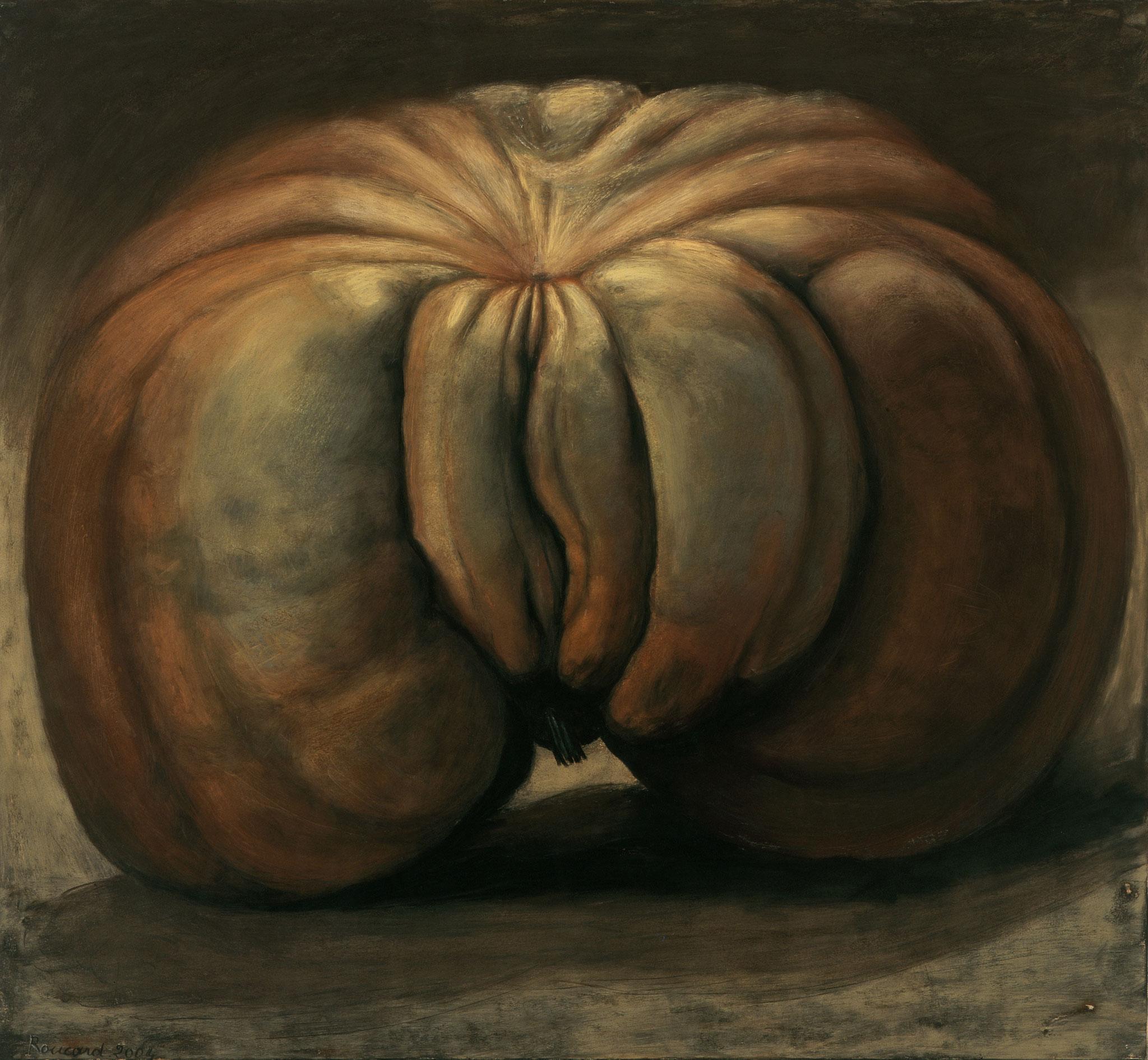 2003. 120 x 130 cm. Pastel sur toile marouflé sur toile.