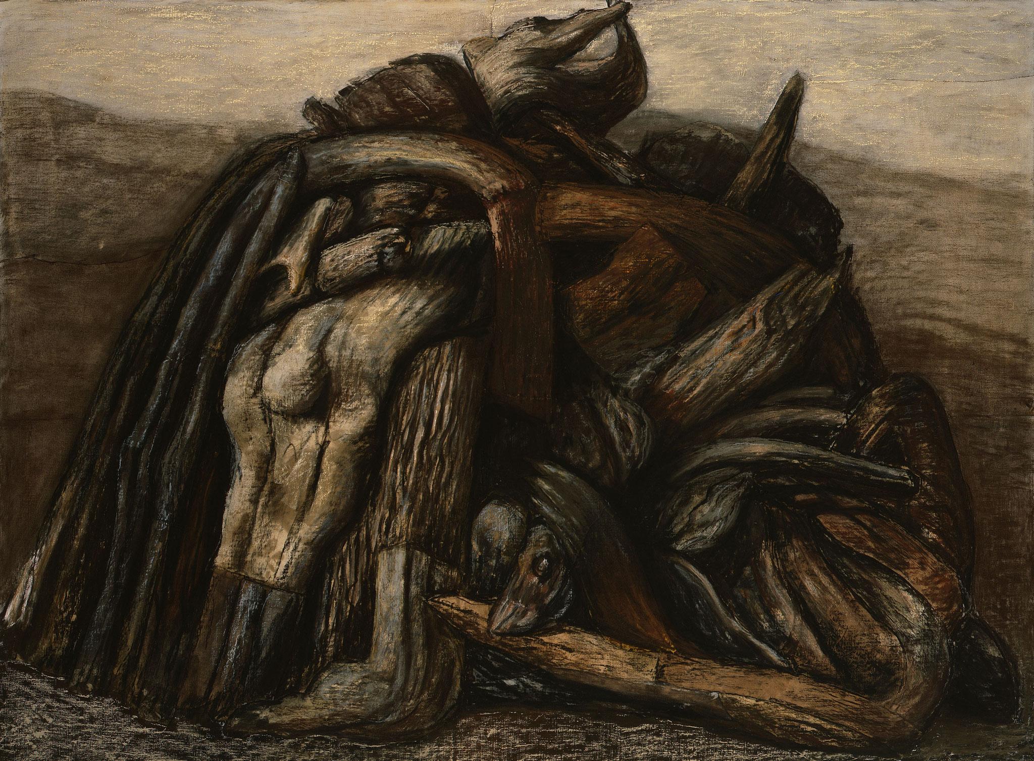 2006 - 2008. 145 x 195 cm. Pastel sur lès de toile marouflé sur toile.