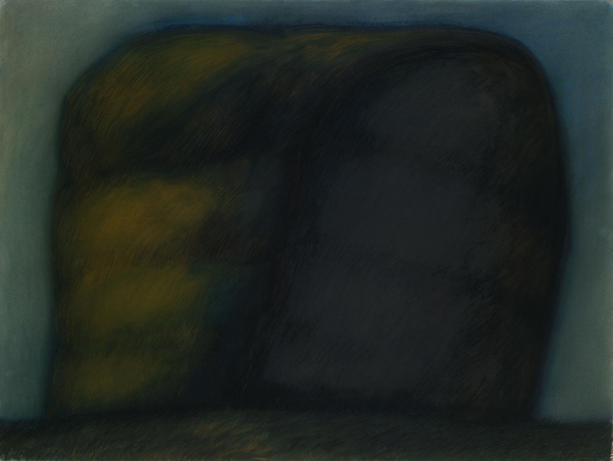 1992. 120 x 160 cm. Pastel sur papier préparé marouflé sur toile.