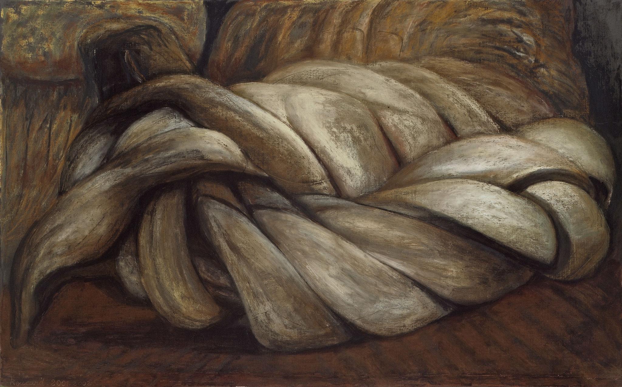 2001 - 2002. Licol 120 x 174 cm. Pastel sur lès de toile marouflés sur toile.
