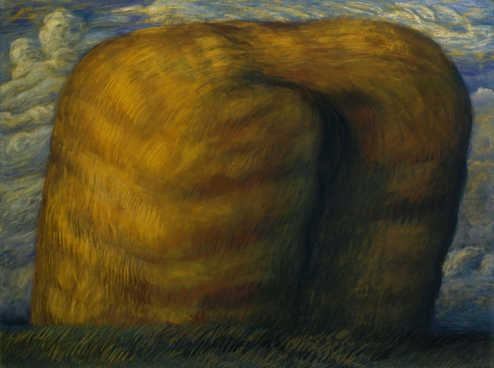 1996. 120 x 160 cm. Pastel sur papier préparé marouflé sur toile.