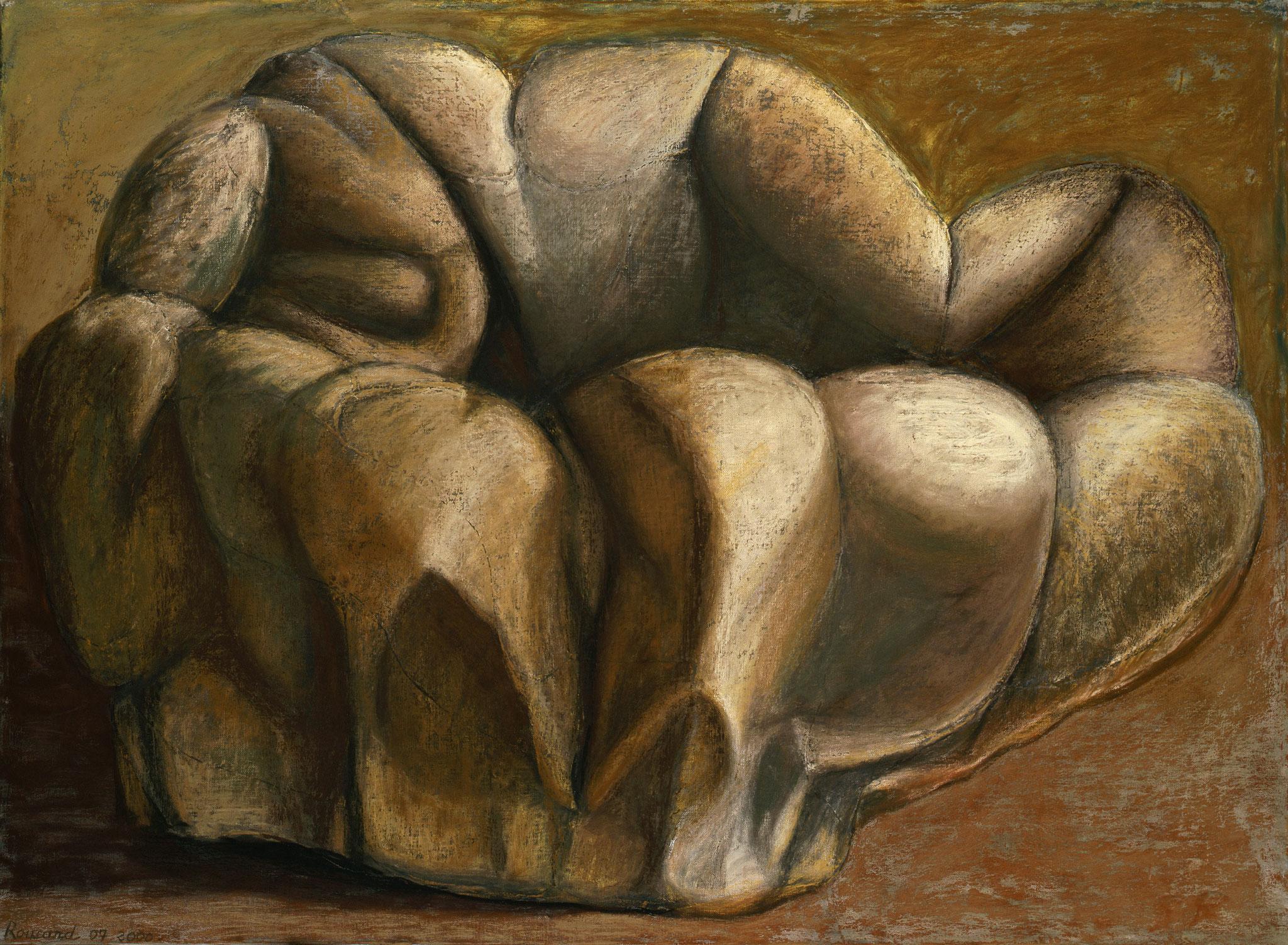 1999 - 2000. 120 x 160 cm. Pastel sur papier préparé marouflé sur toile.