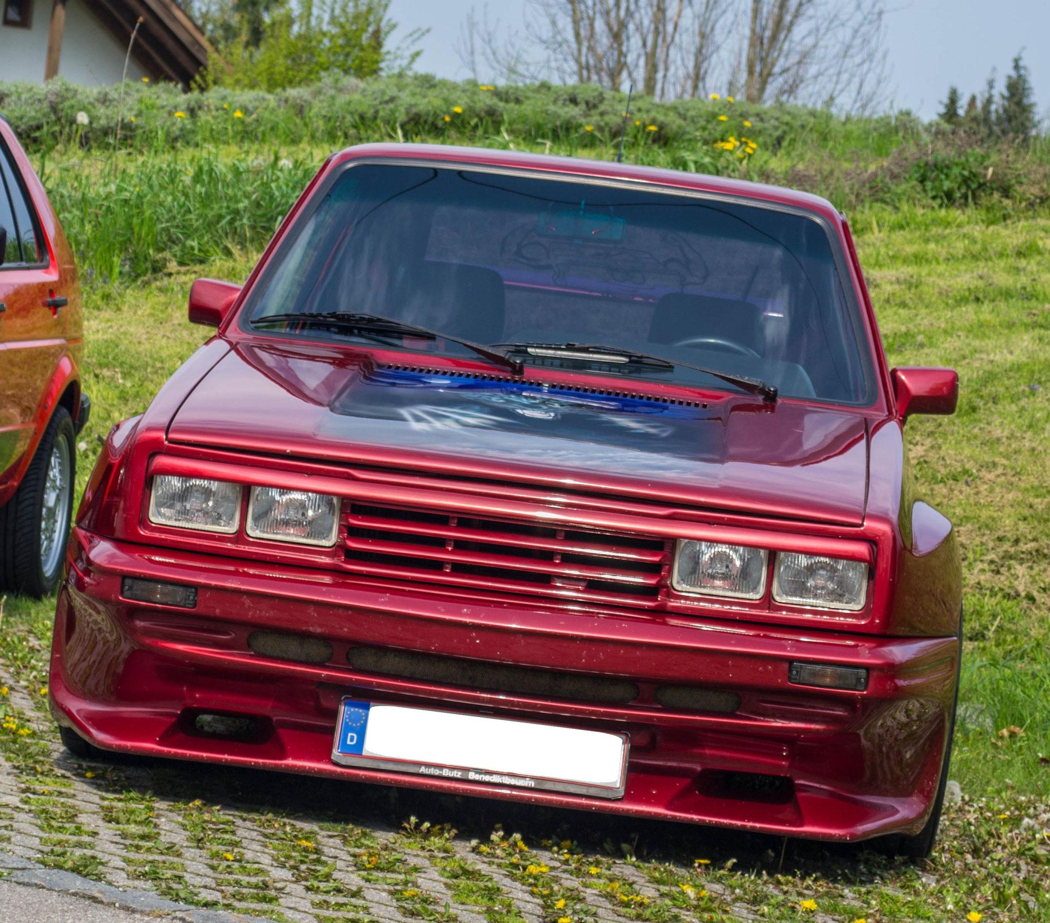 VW Golf I GTI 2,0 16V (1)