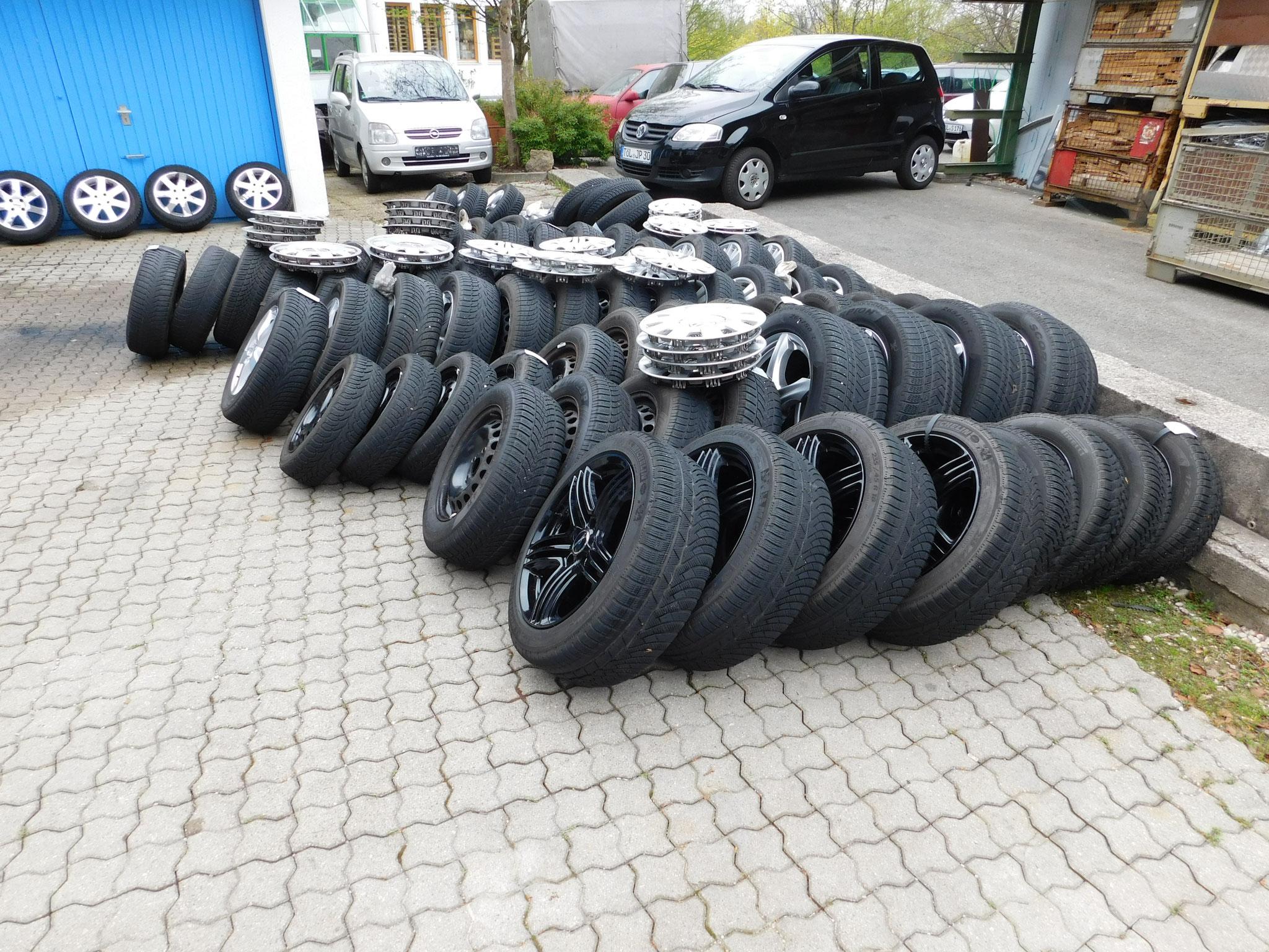 Reifenwechseltag - Räder-Parade