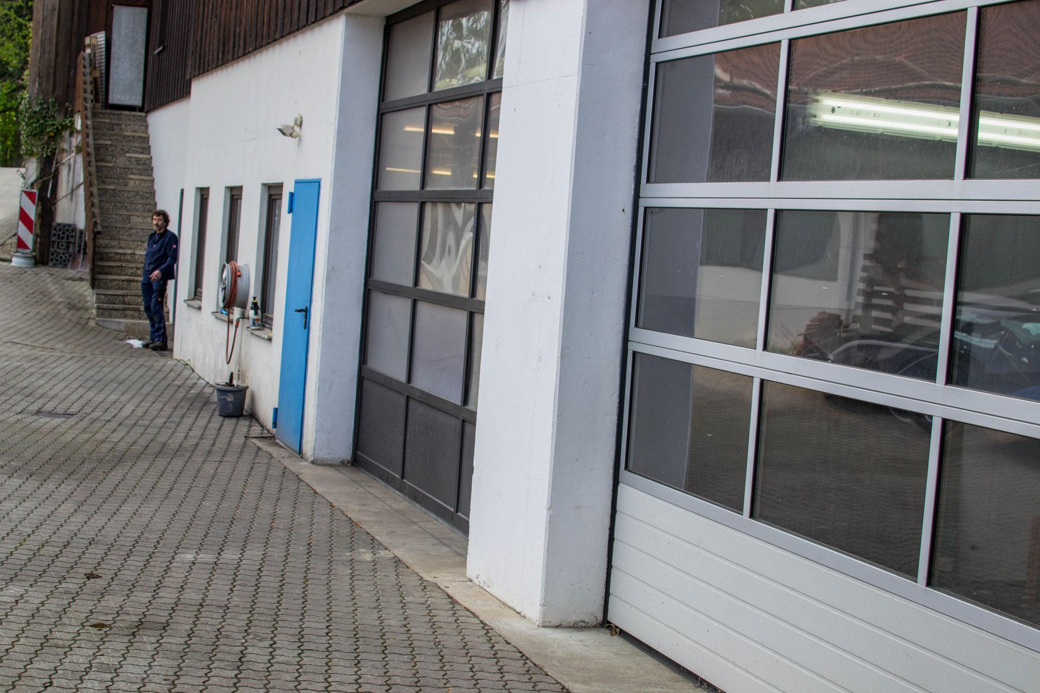 Werkstatt von außen