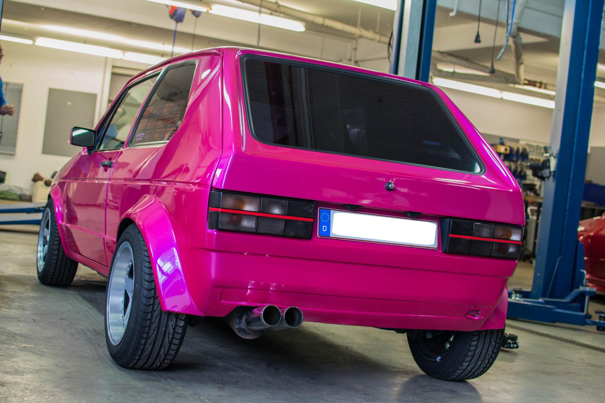 VW Golf I GTI 16V (4)