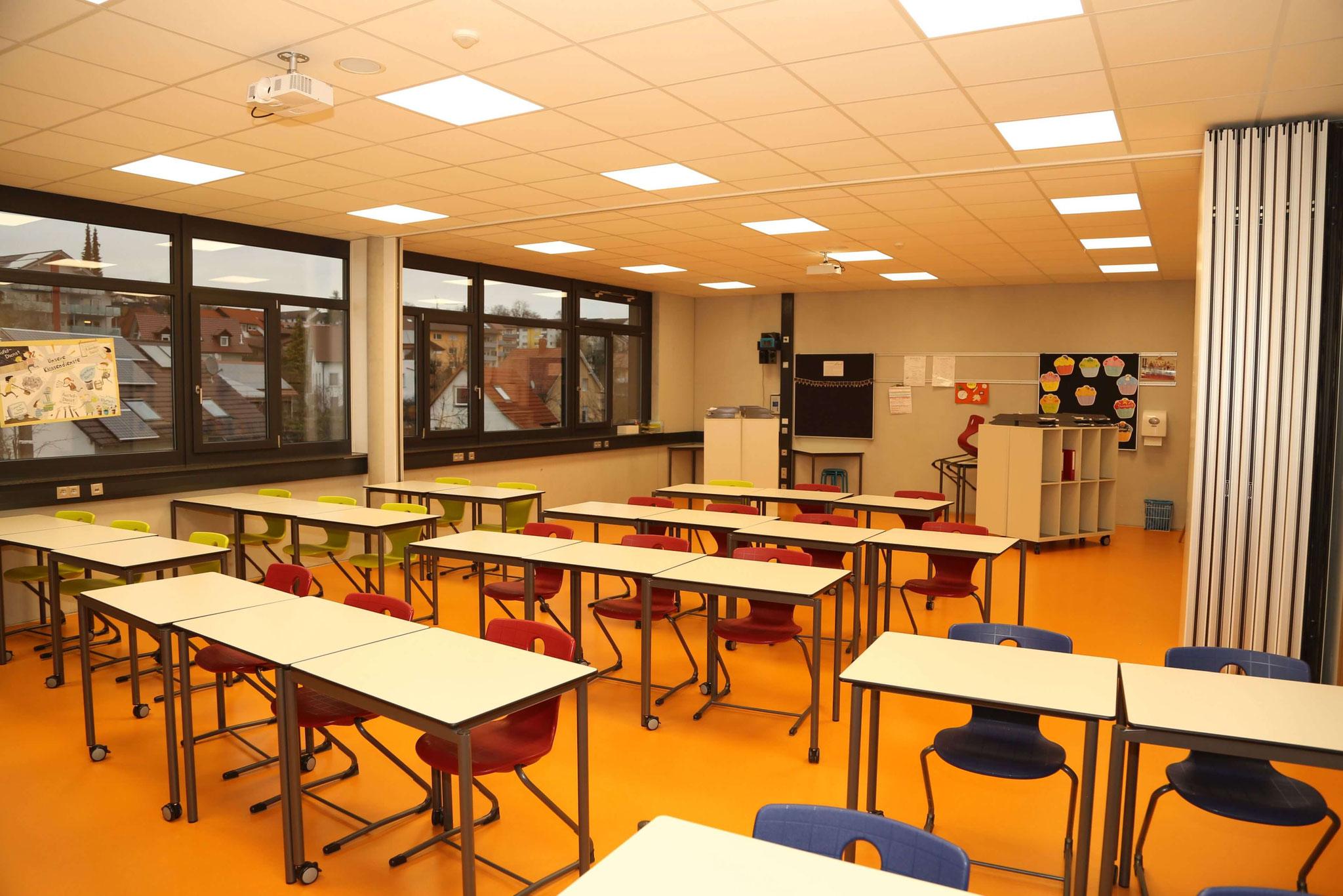 Beispiel für ein Klassenzimmer