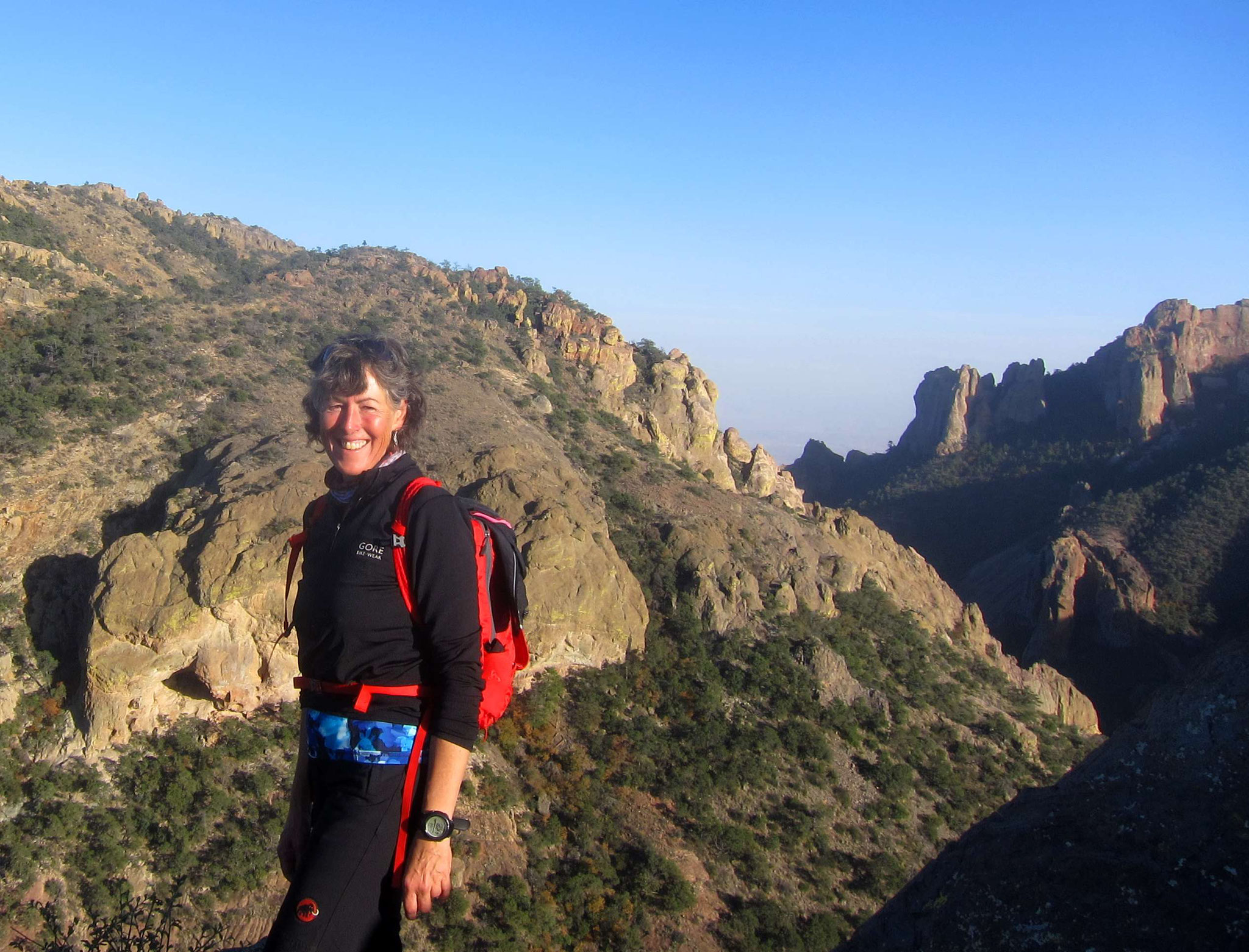 Auf dem Lost Mine Trail (Big Bend Nationalpark)