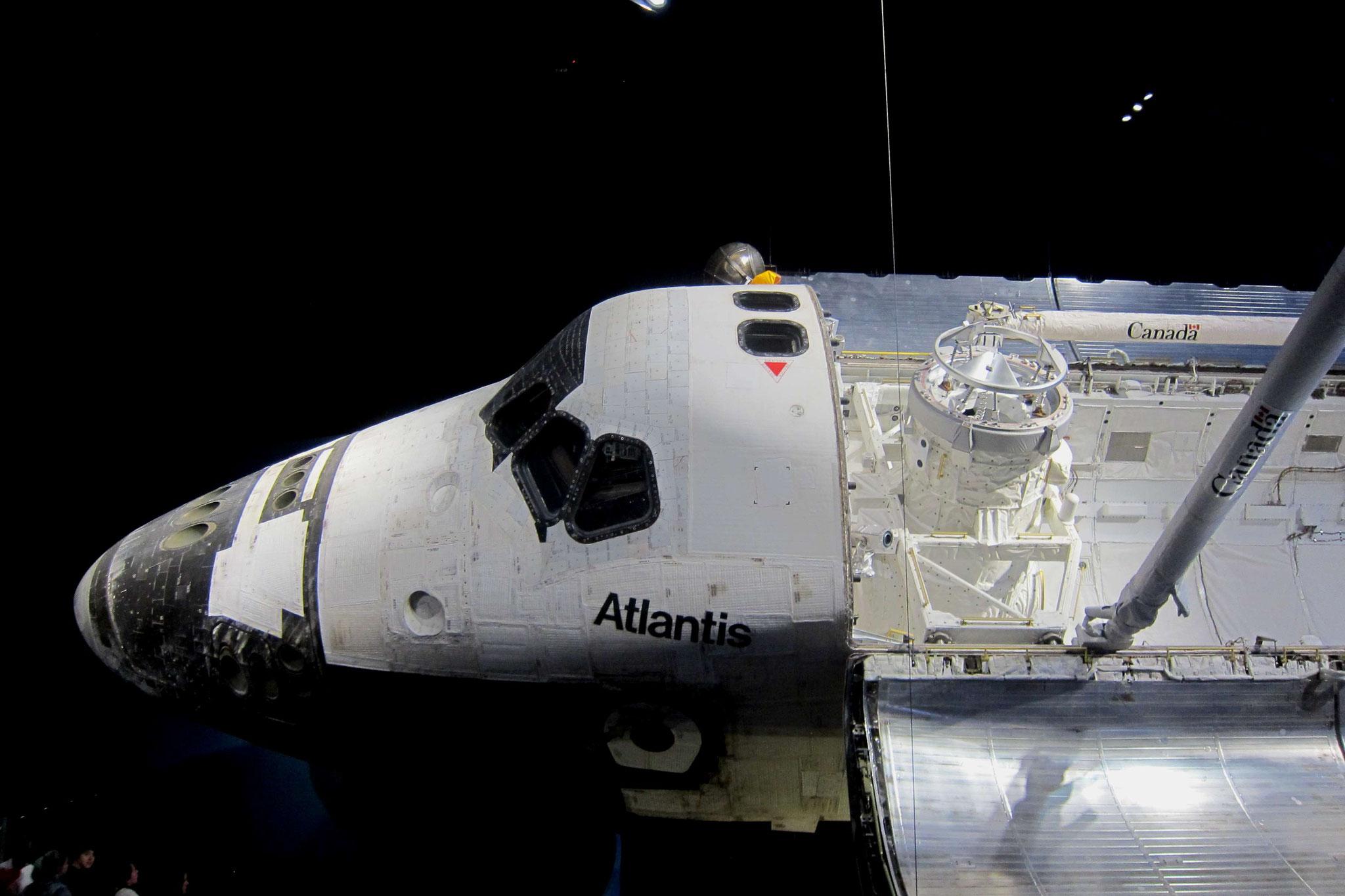 Das letzte geflogene Space-Shuttle - die Atlantis