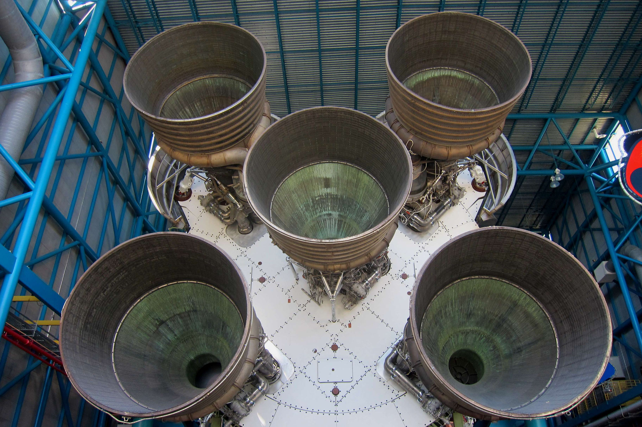 Die Raketenantriebe der Saturn V-Rakete aus dem Apollo Programm