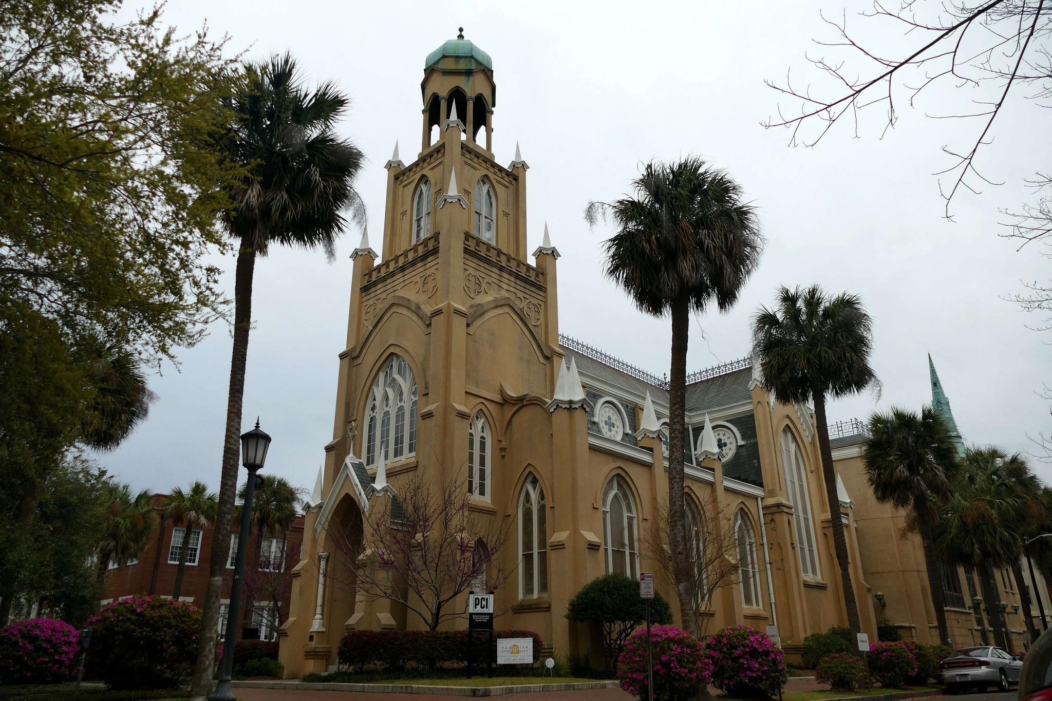 Ansicht der Synagoge der Congregation Mickve Israel