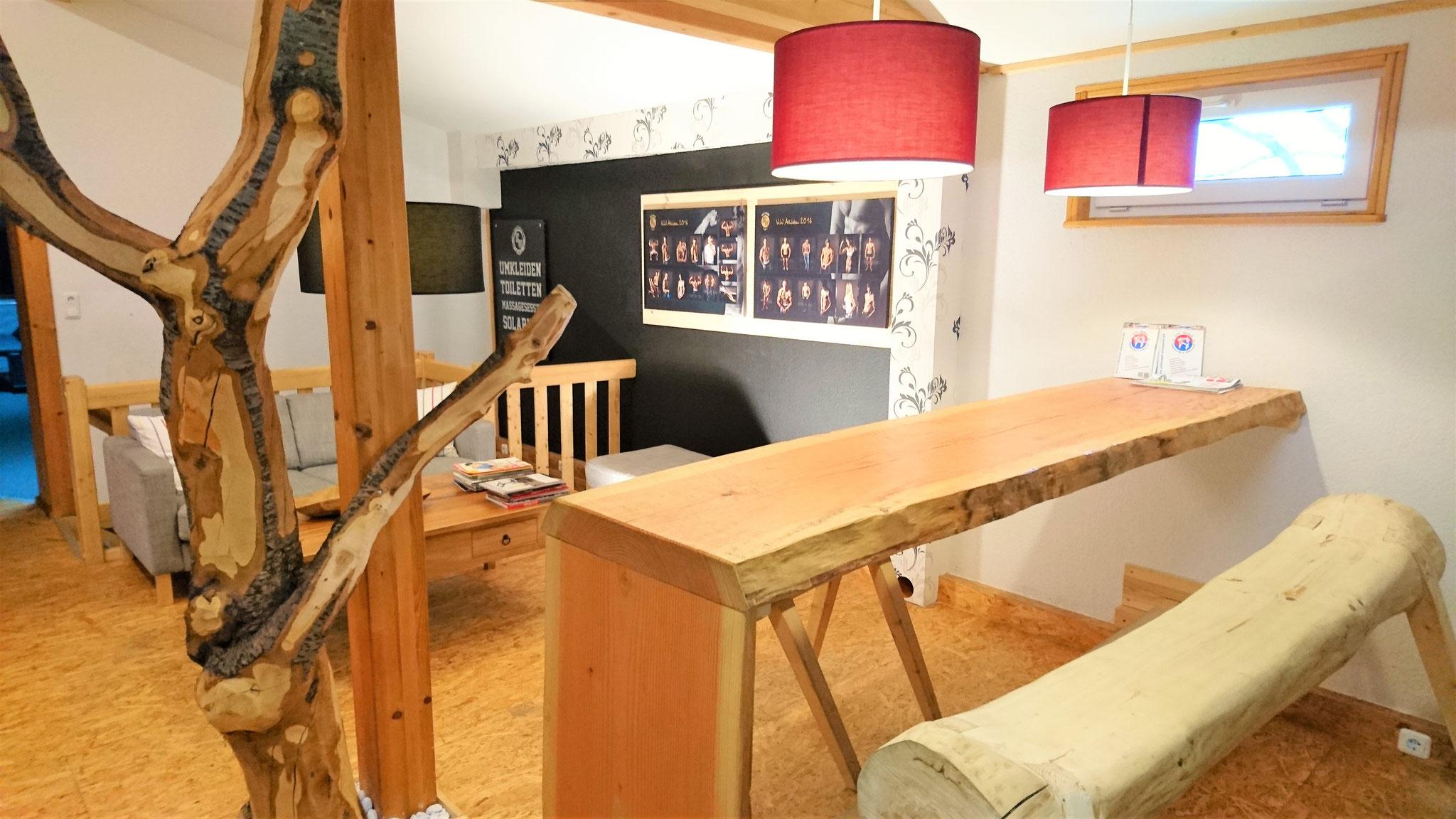 Unser Loungebereich