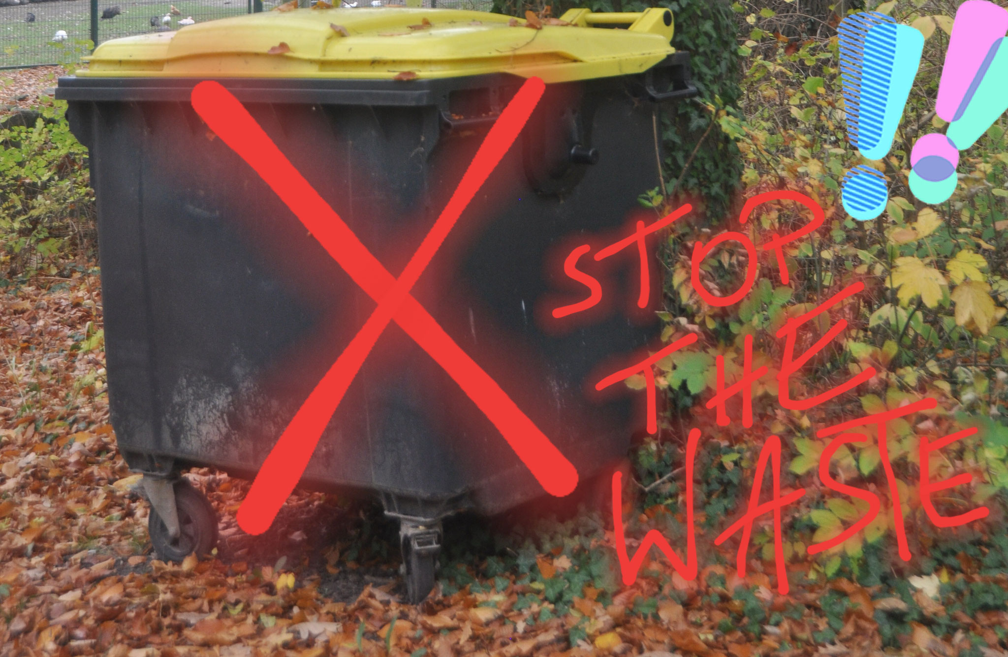 Stop The Waste And Use What You Have -  Esa