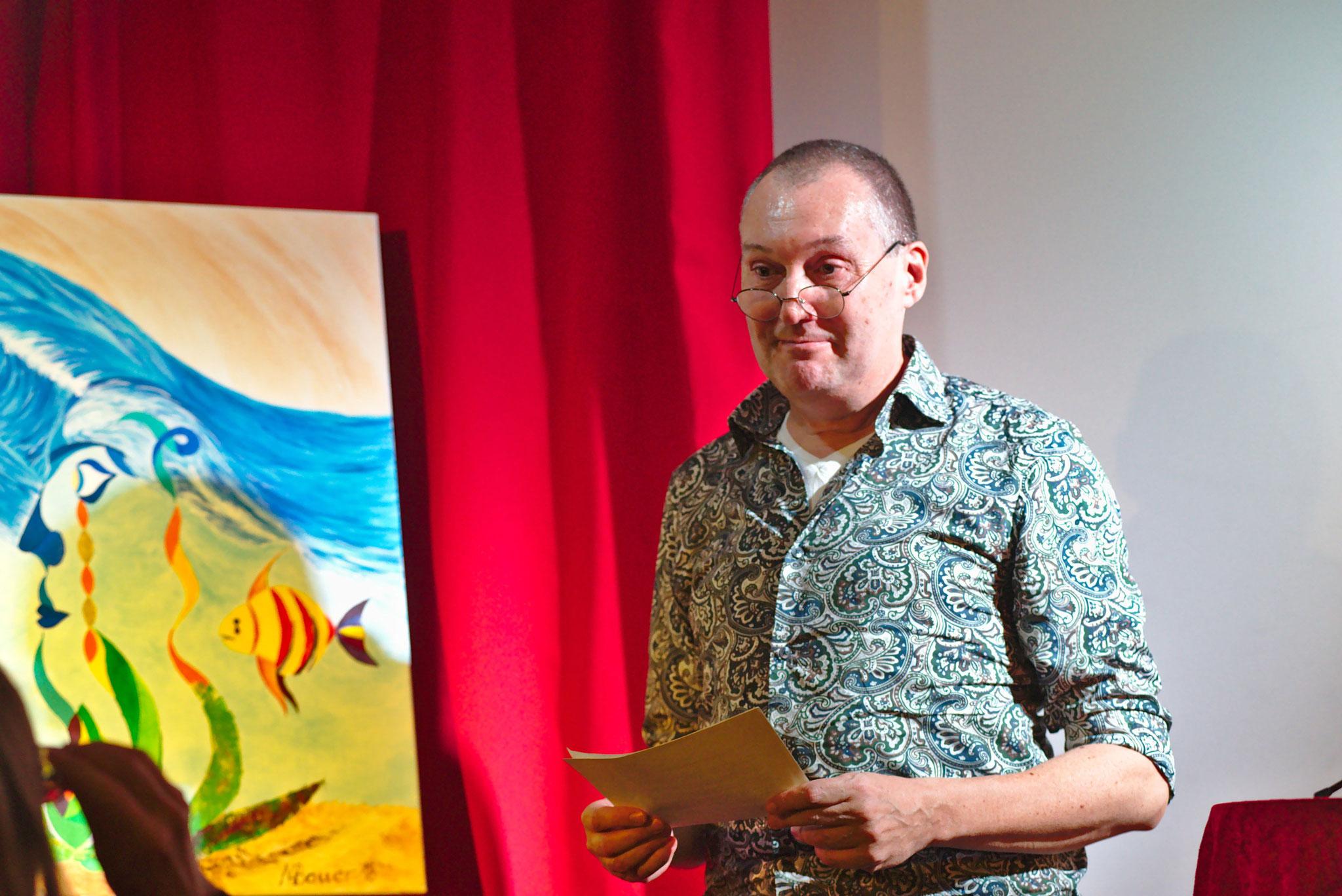 Max Bauer, Bildender Künstler