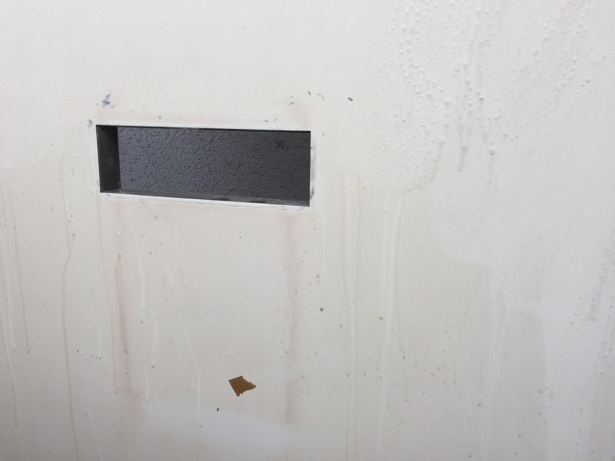 リフォーム 玄関ドア ダイナックシート張り