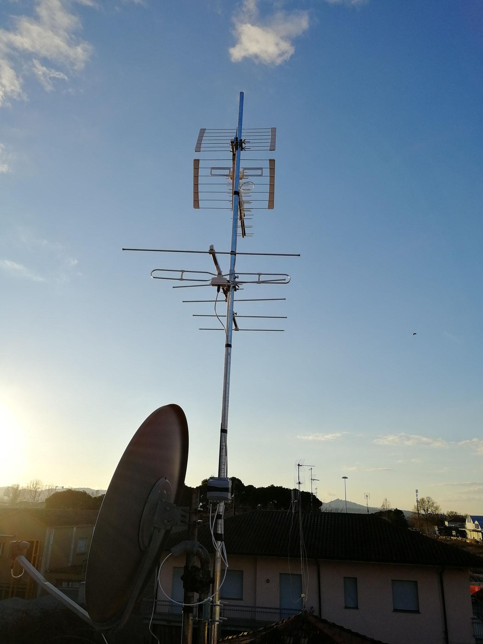 Antenna Digitale Terrestre e Parabola a Cesena Sant'Egideo