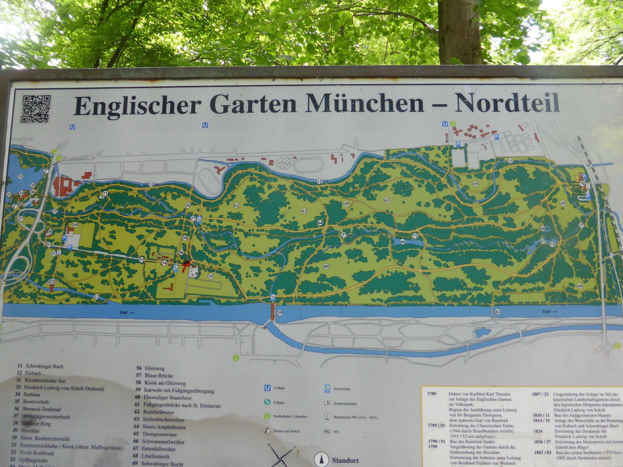 Englischer Garten nördlicher Teil