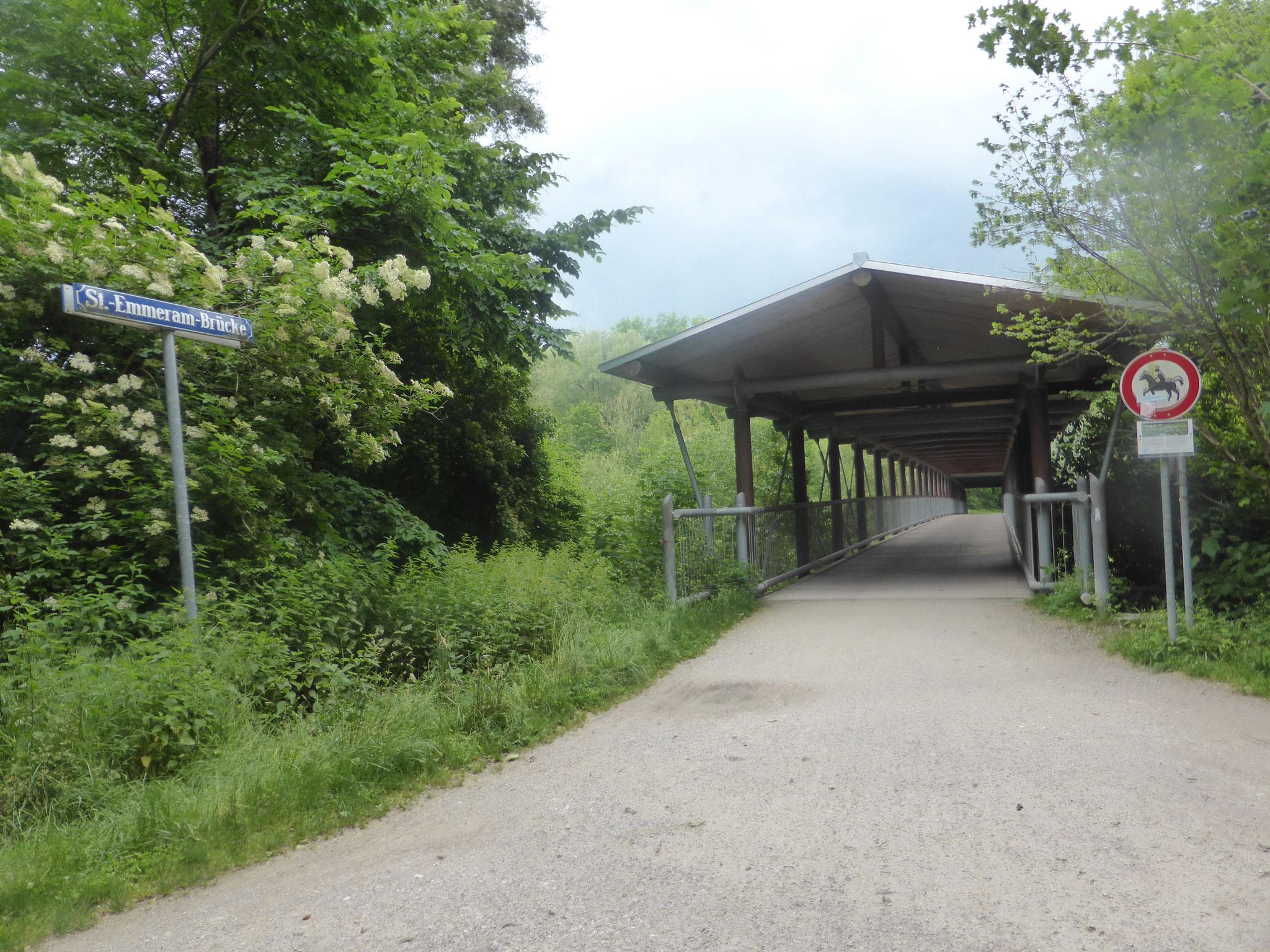 Holzbrücke St. Emmeram