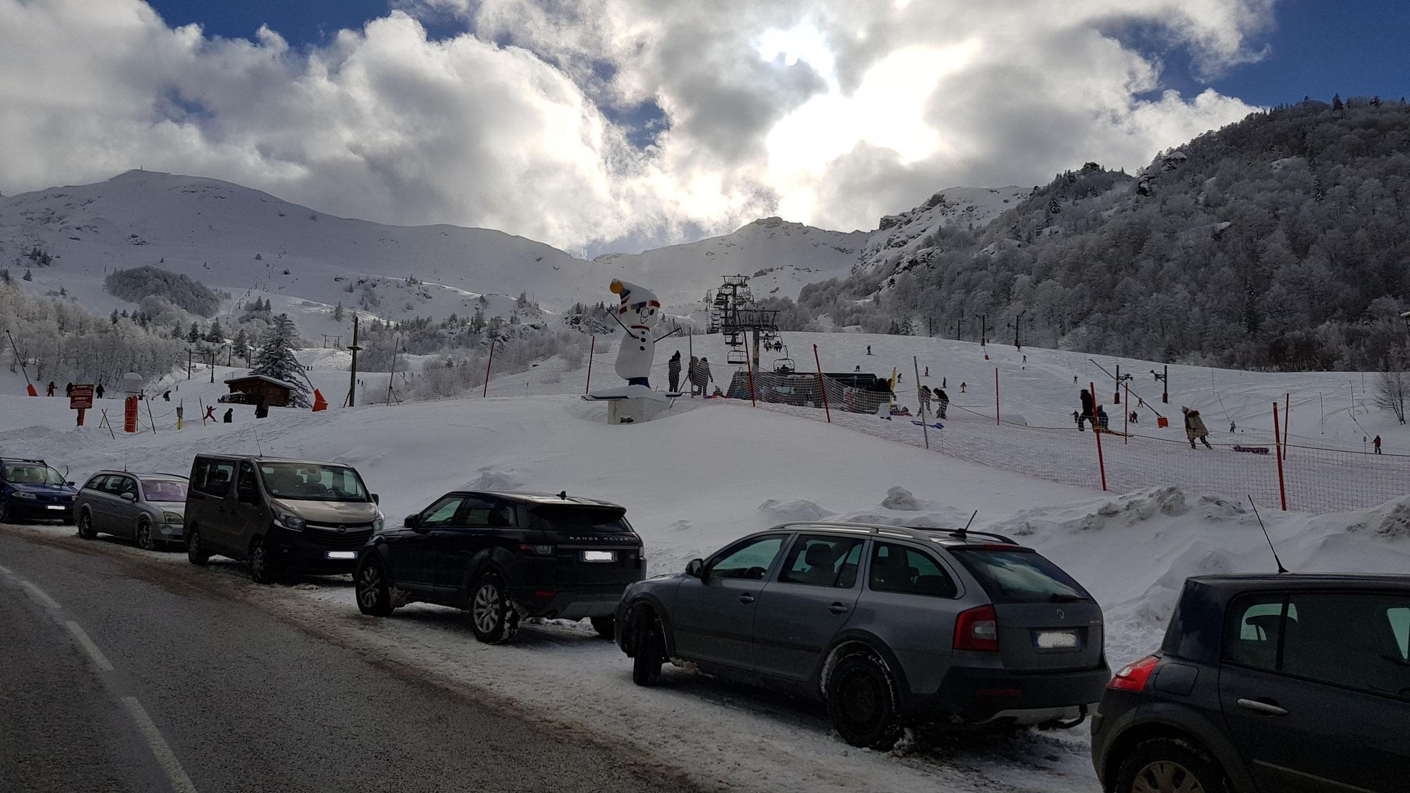 Station de ski les Monts d'Olmes  - © Taxis Audabram