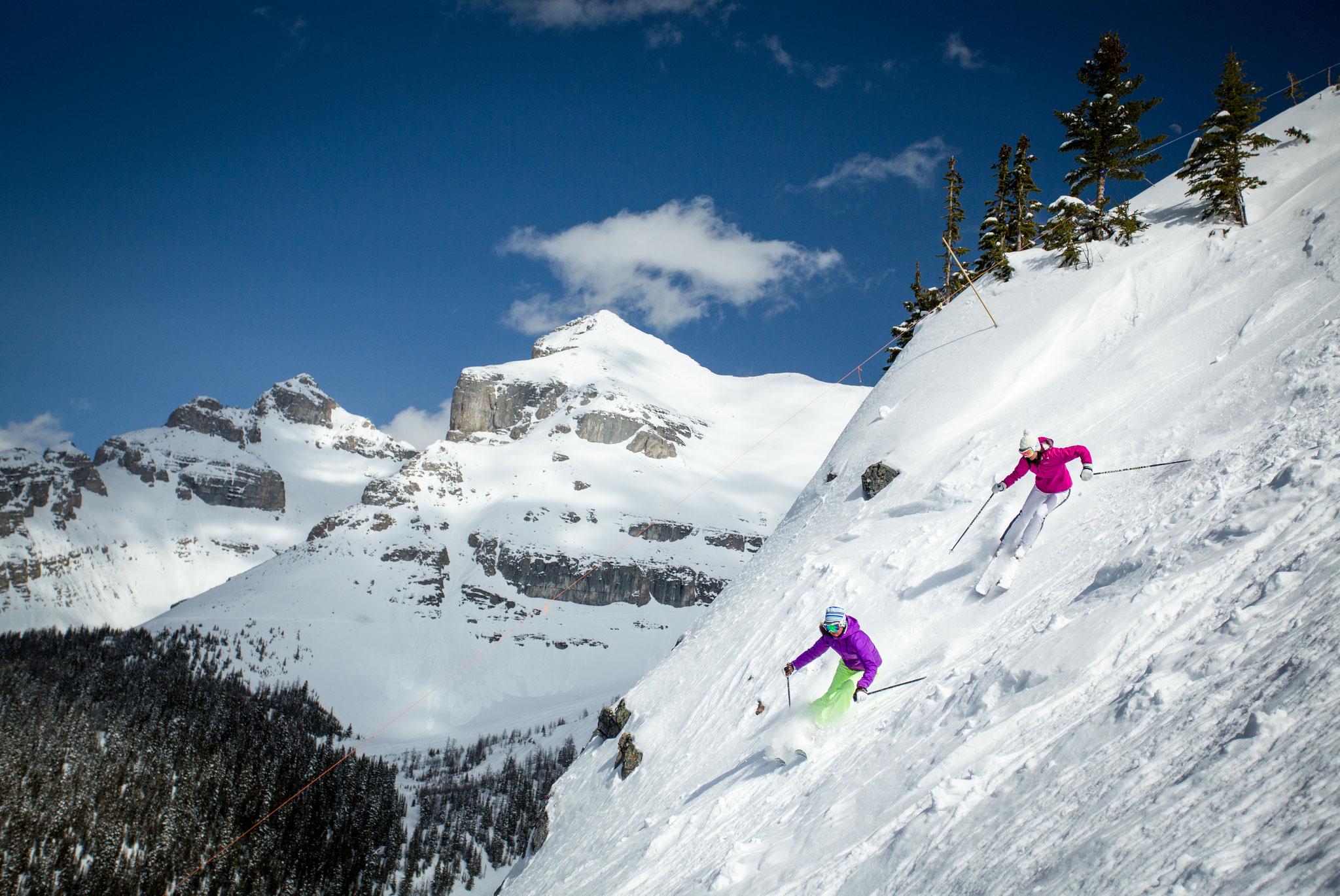 Skifahren in Banff - traumhafte Pisten im Sunshine Village