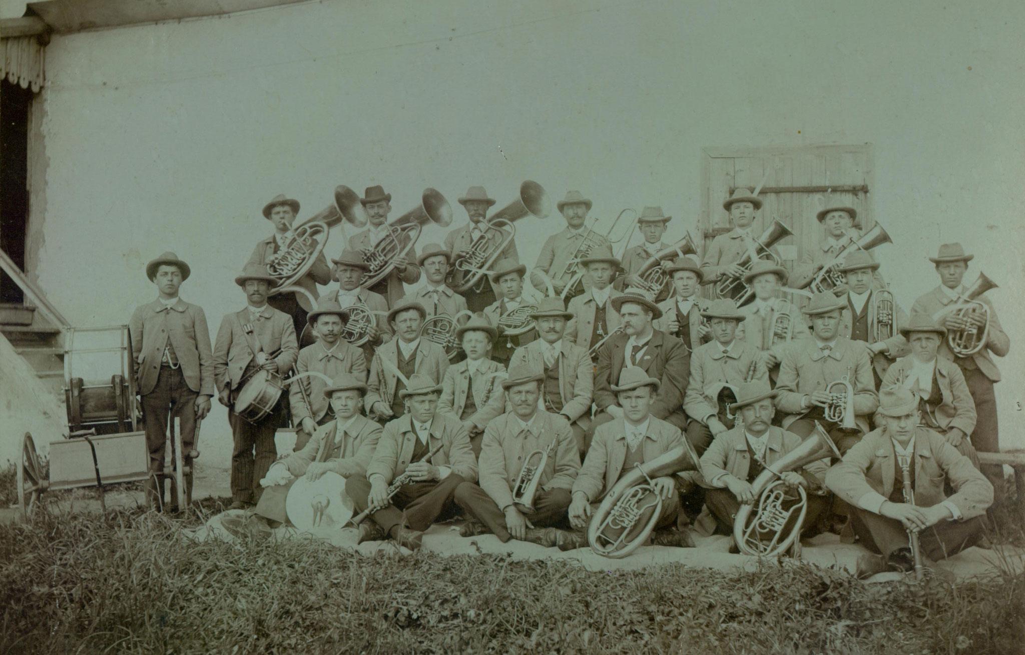 MK Kundl im Sommer des Jahres 1900