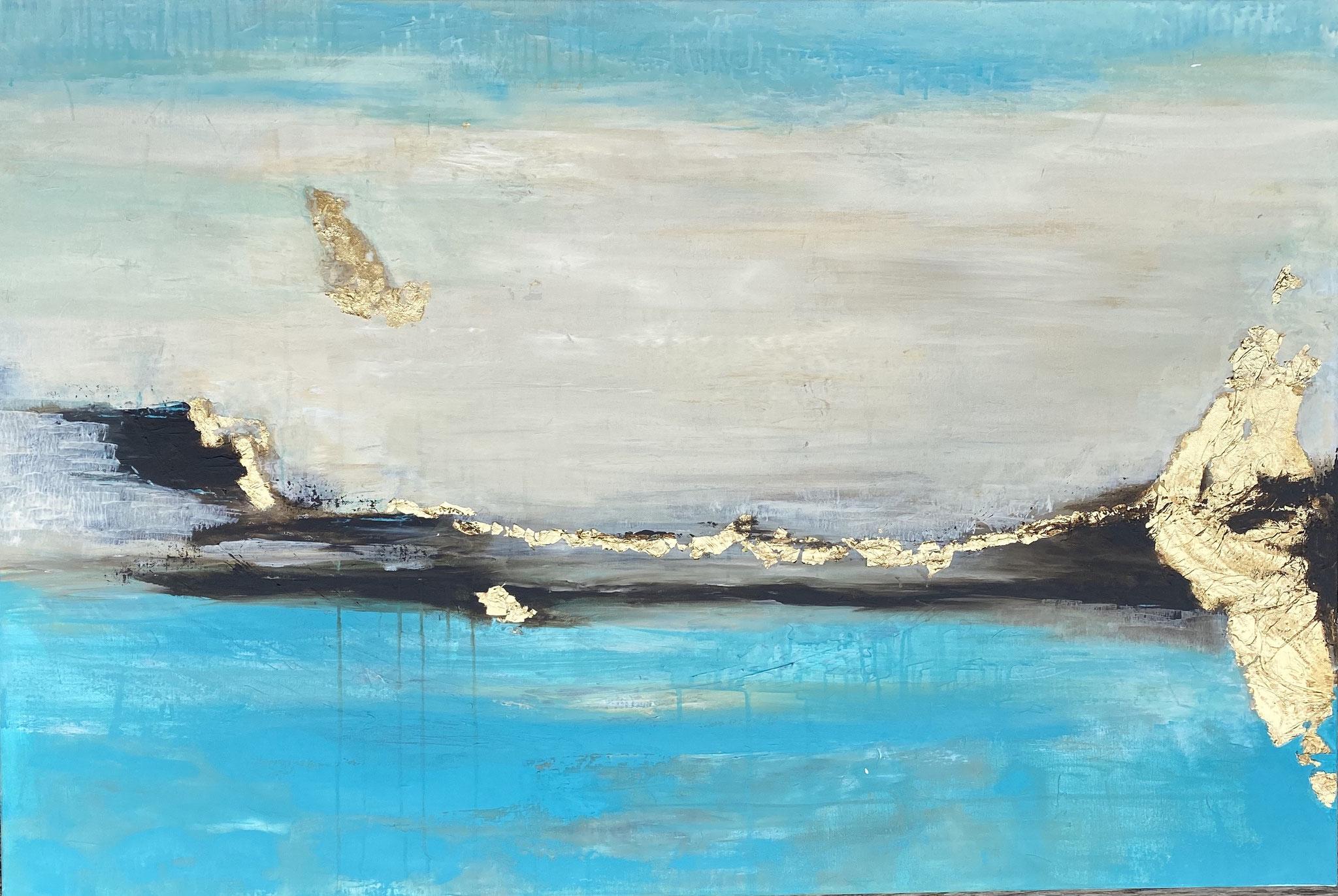 """""""golden landscape"""" 120 x 80 cm - 2000,- Euro"""