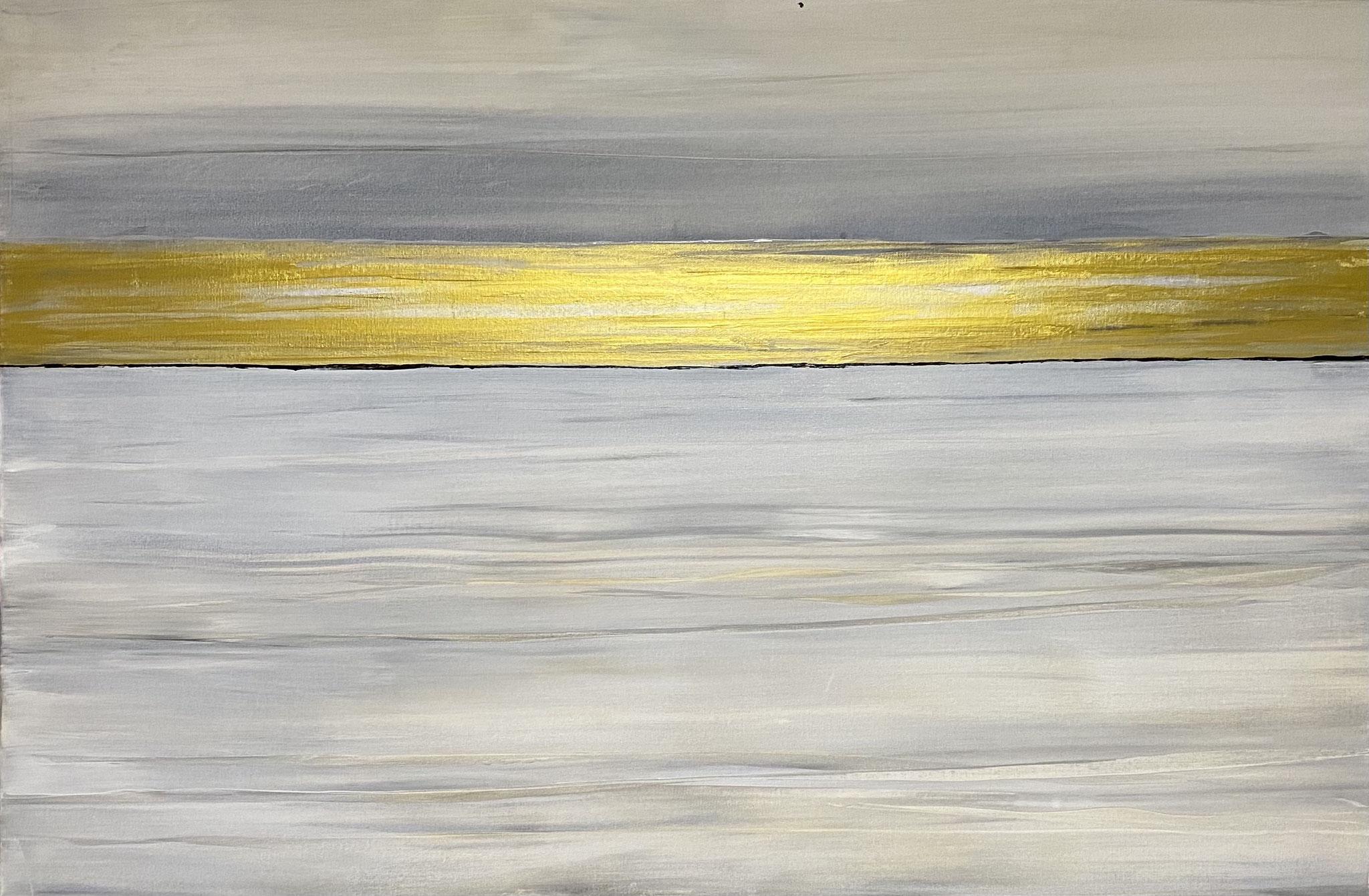 """Goldene Zukunft"" 120 x 80 cm - 1700,- Euro"