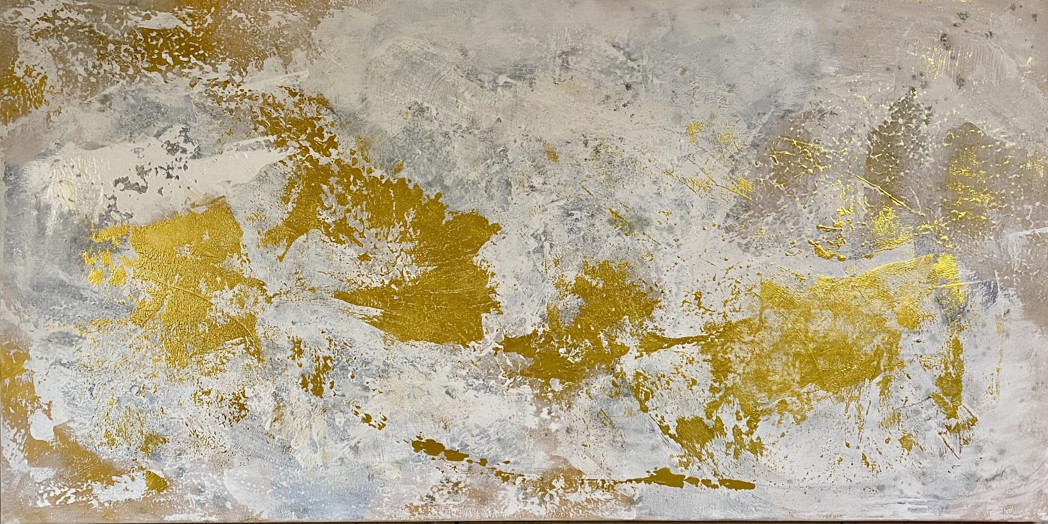 """Goldsturm"" 120 x 60 cm - 1800,- Euro"
