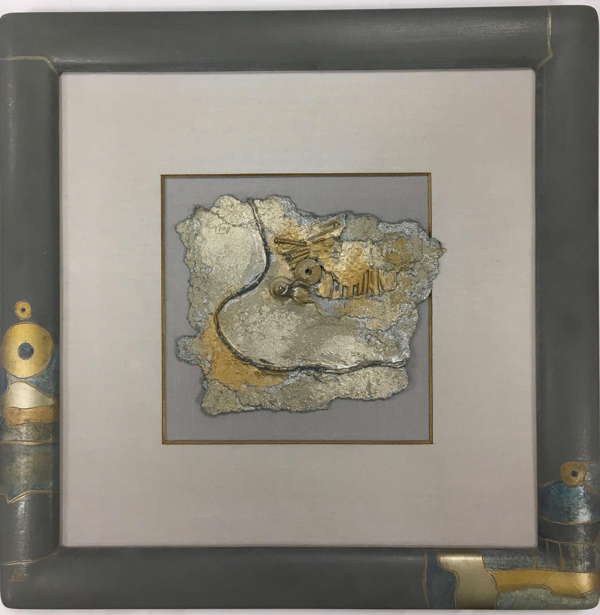 """Neuberger """"Collage mit Zahnrad"""" Außengröße: 35,0 x 35,0cm Sonderpreis: € 249,-"""