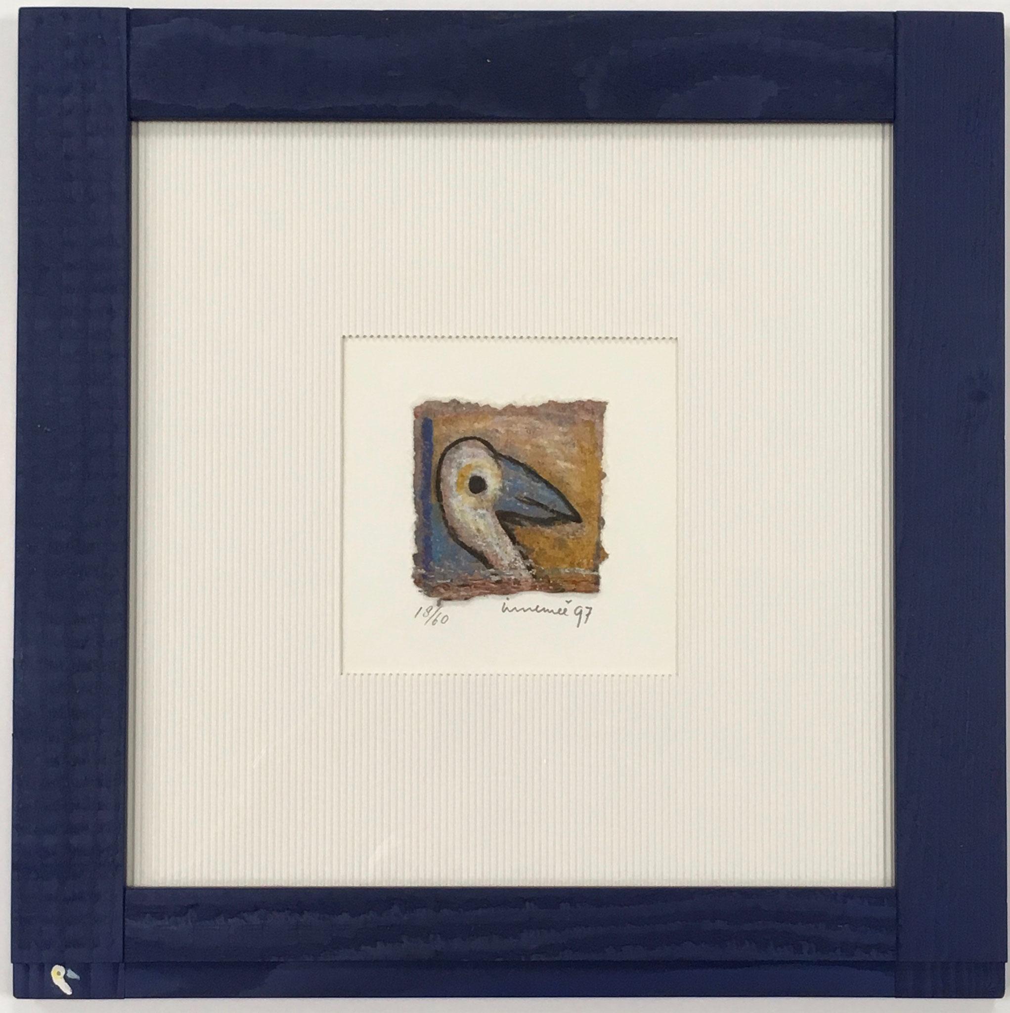 """Immenne """"Vogel"""" Außengröße: 44,0 x 44,0cm Sonderpreis € 149,-"""