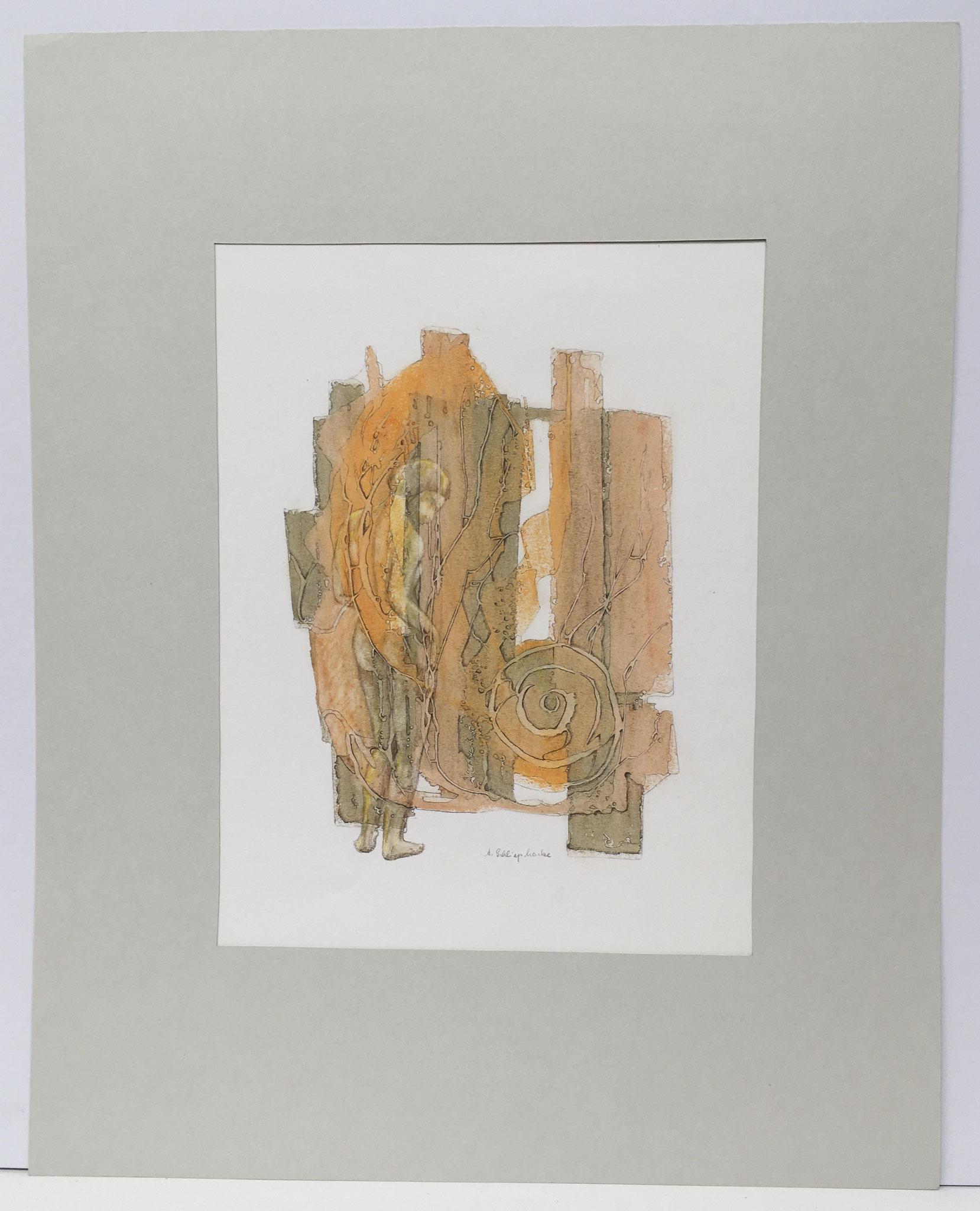 "Ölkreide  ""Daphne"" - 40 x 50 cm - 590,- €"