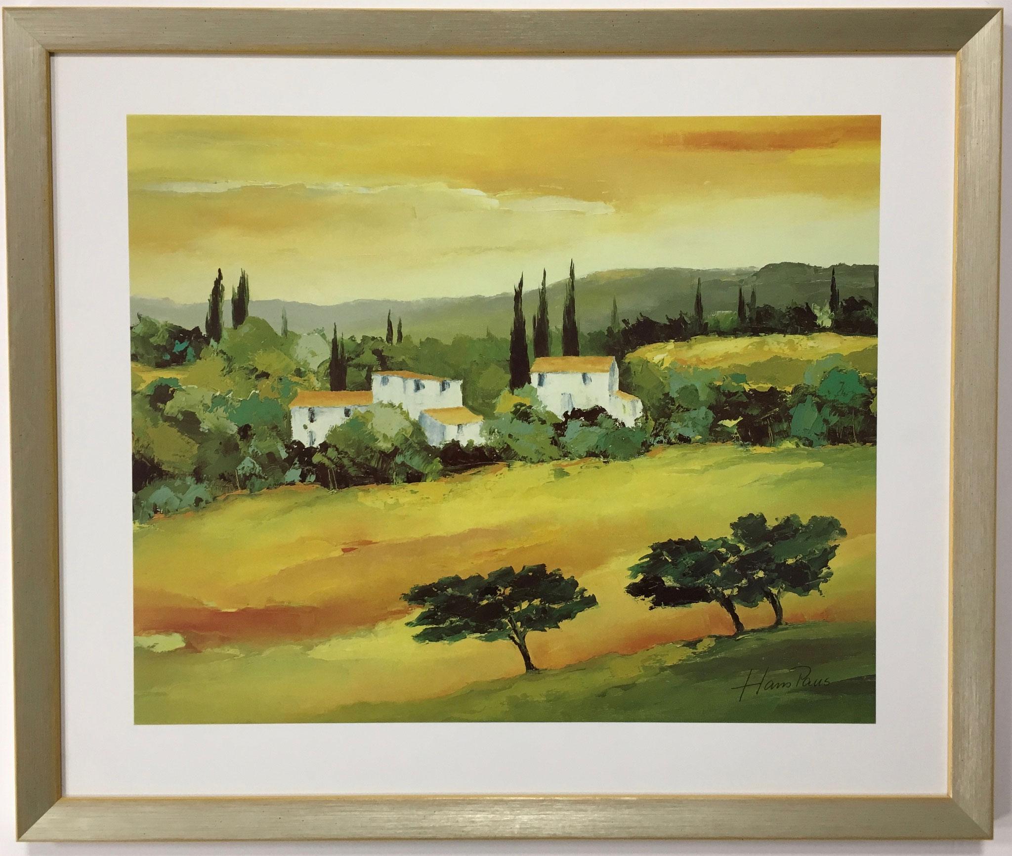 """Hans Paus """"Quiet surroundings II"""" Größe/Falzmaß: 60,0 x 50,0cm € 99,-"""