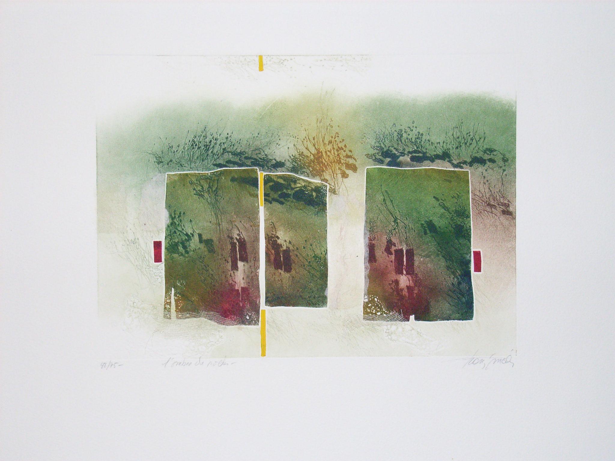 Francis Man, Radierung, Größe/Falzmaß: 60x50, 375,-€