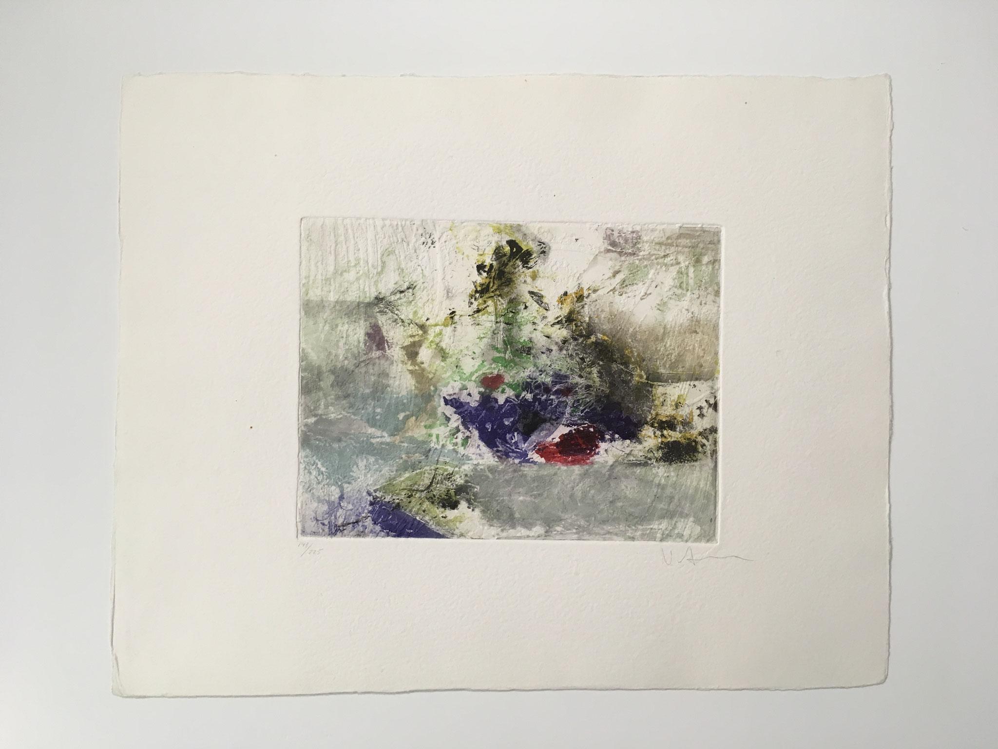 Künstler unbekannt, Original Radierung auf handgeschöpftem Büttenpapier ungerahmt Größe: 59,0 x 47,0cm € 325,-