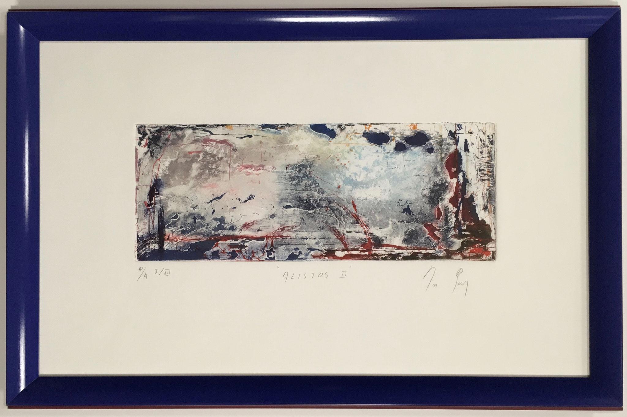 """Künstler unbekannt """"Alisios II"""" Original Radierung Größe/Falzmaß: 61,0 x 38,0cm € 490,-"""