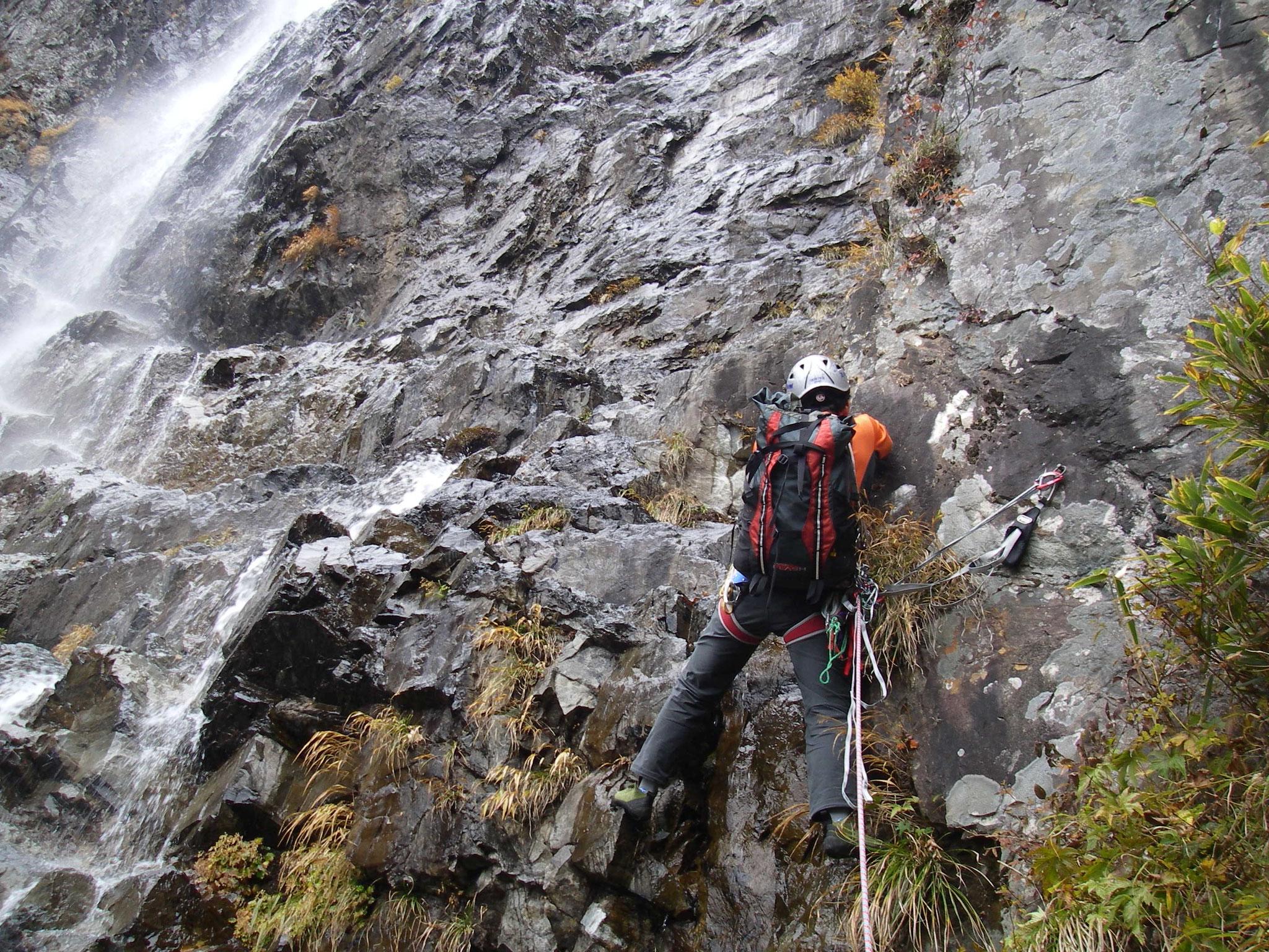 大台山  中の滝