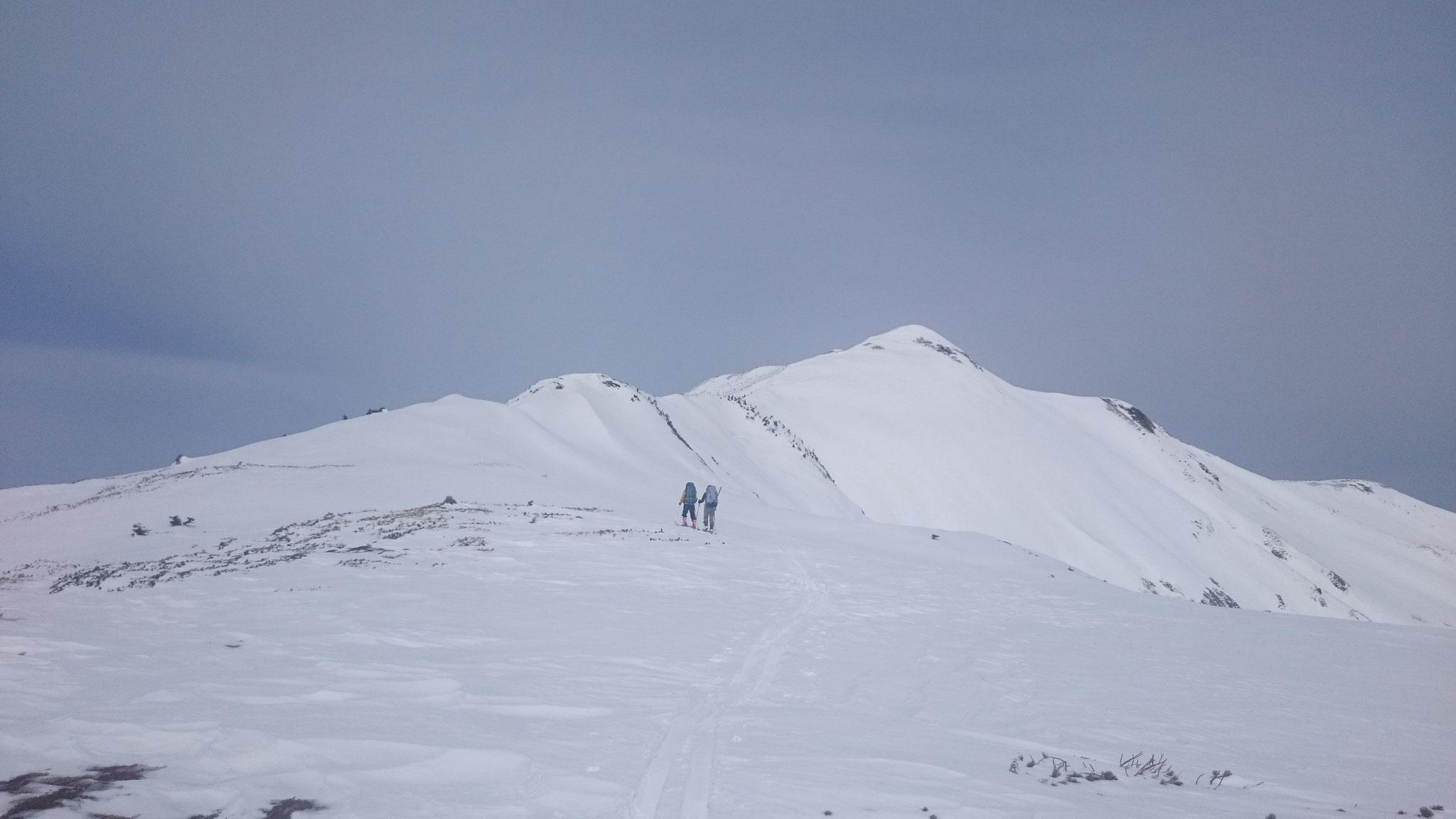 白山山系  別山