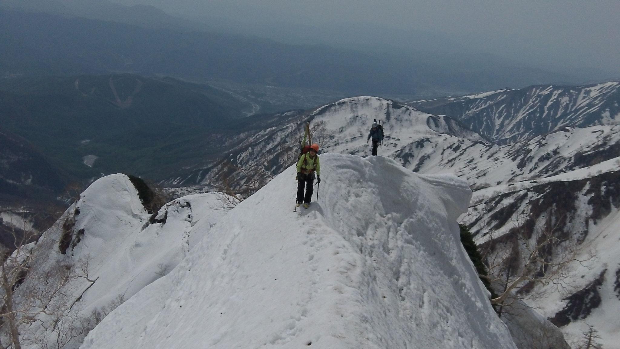白馬岳  主稜