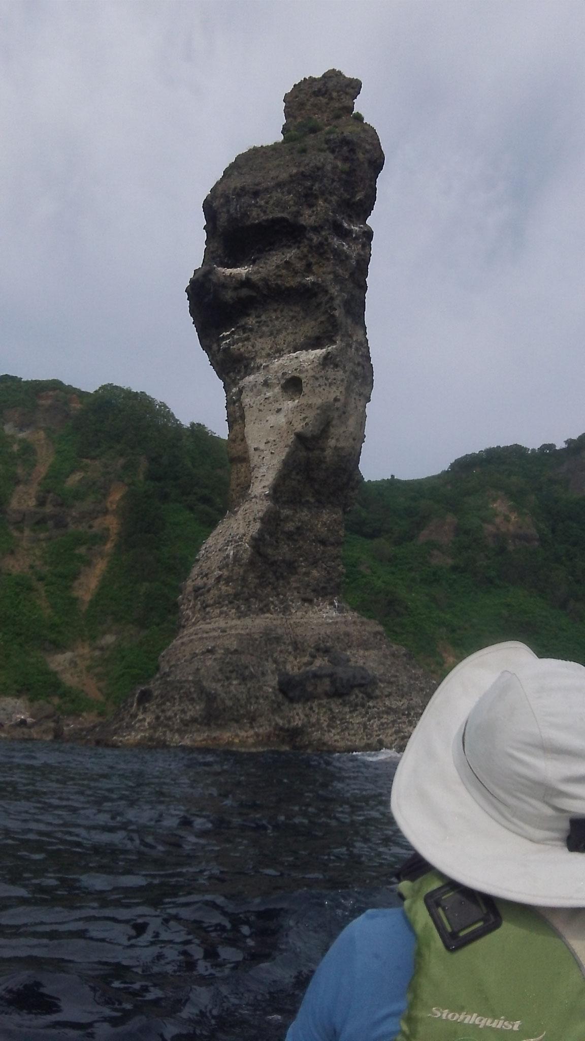 積丹半島  女郎子岩