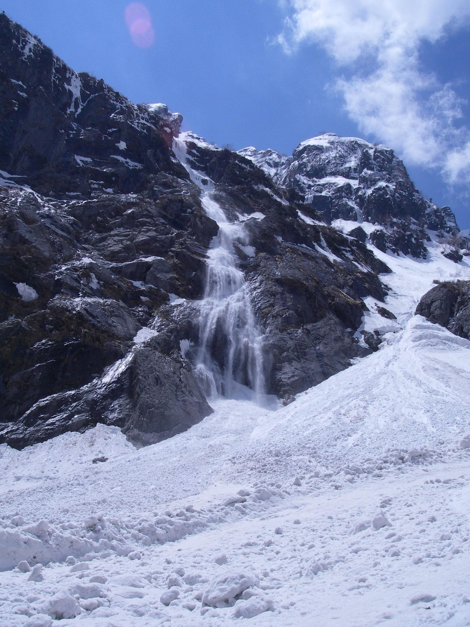 剱岳  三の窓雪渓