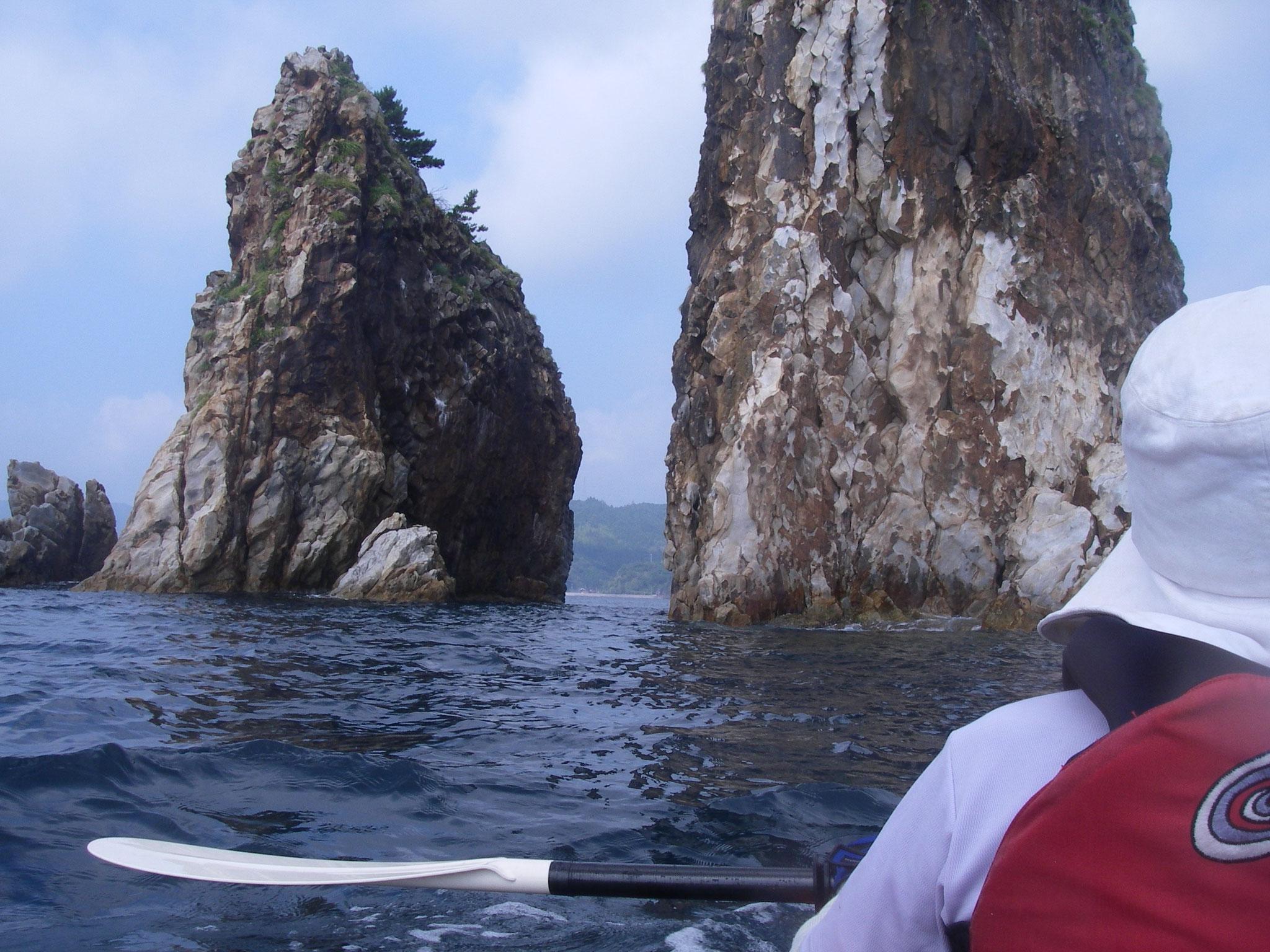 隠岐の島  三郎岩