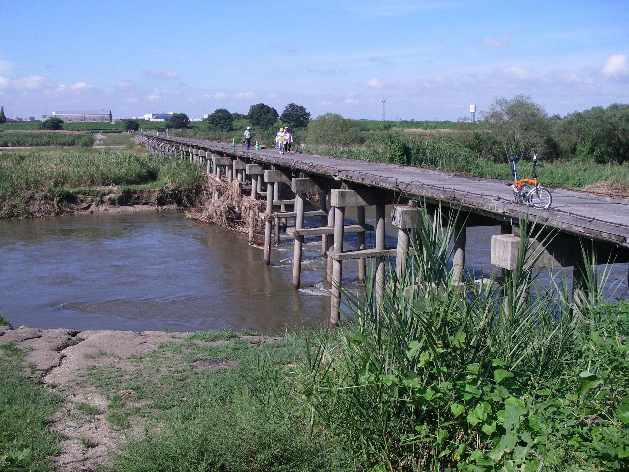 木津川流れ橋