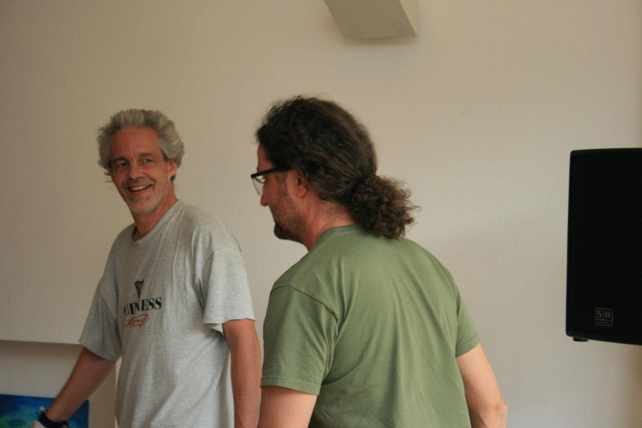 Tom & Mikes Foto: Anne Kehrein & Klaus Schaarschmidt