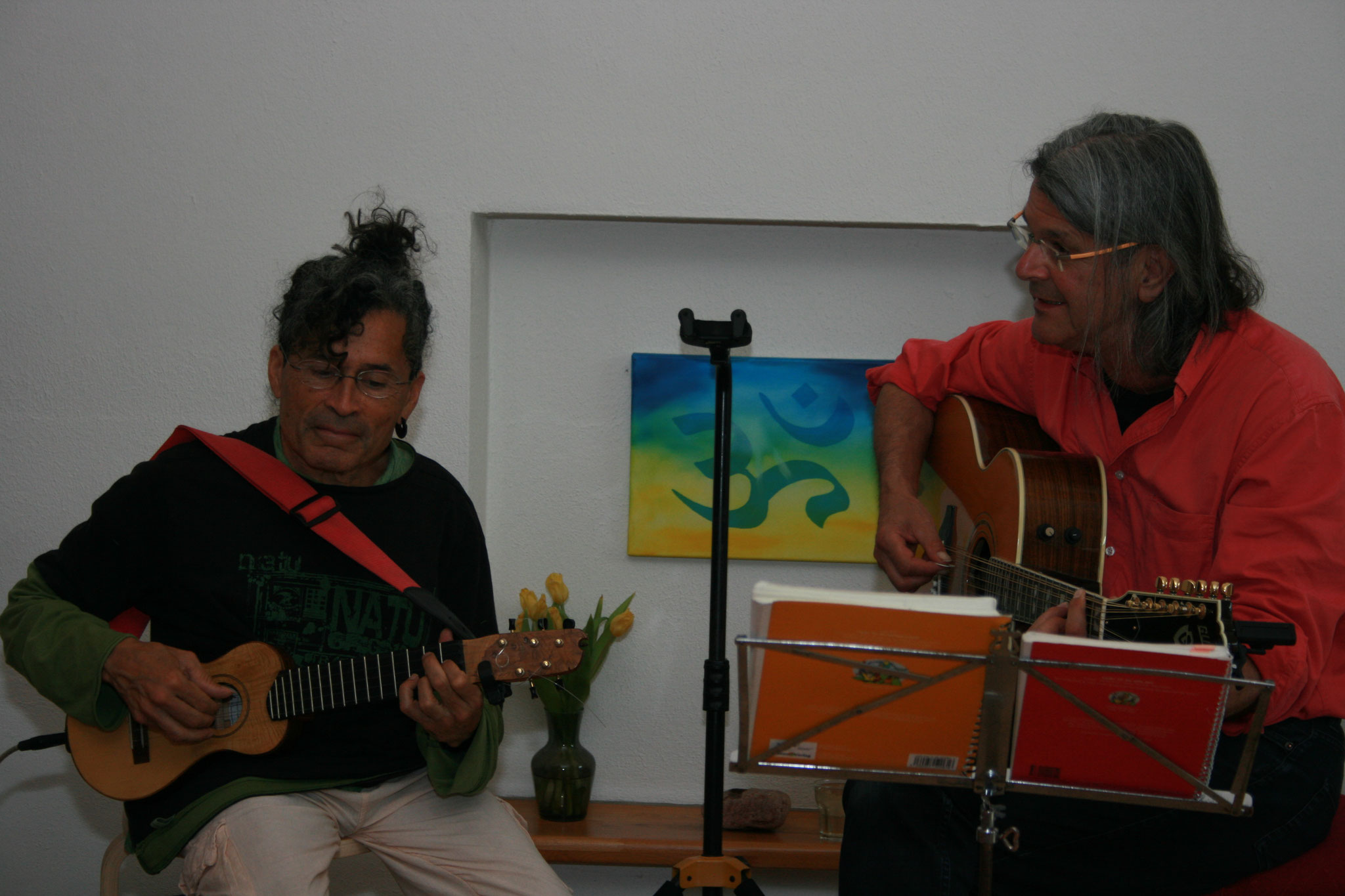 weiter beim Soundcheck Foto: Anne Kehrein & Klaus Schaarschmidt
