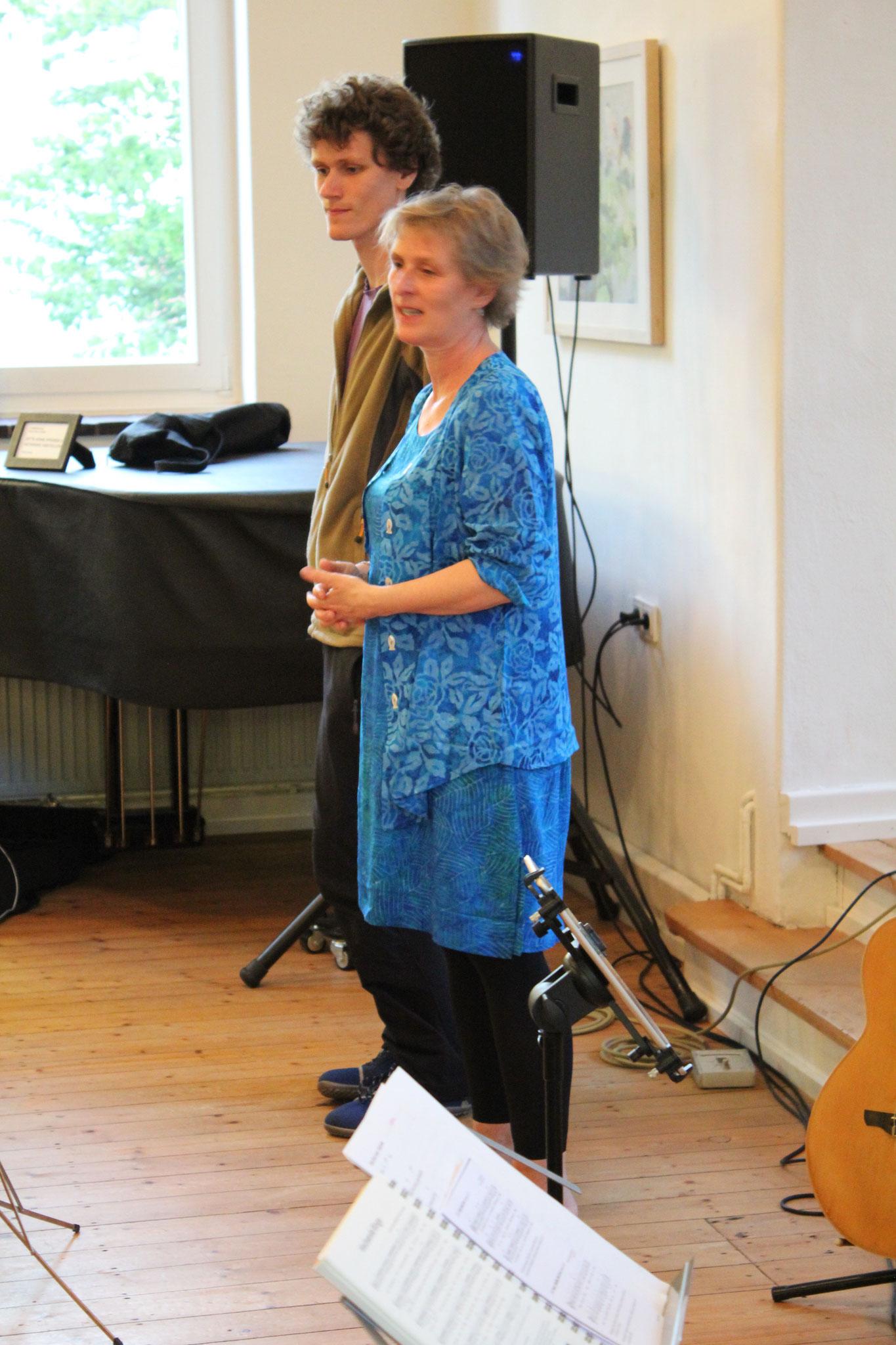 Beitrag unserer Bielefelderin Alke BAuer mit ihrem Sohn