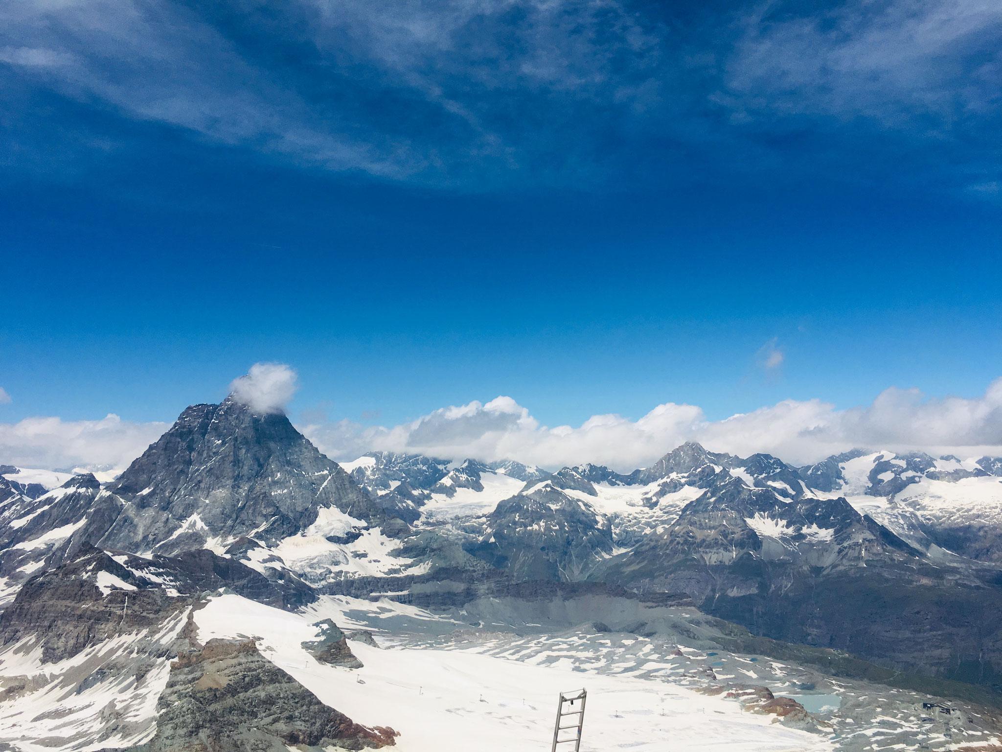 Kleines Matterhorn, Wallis
