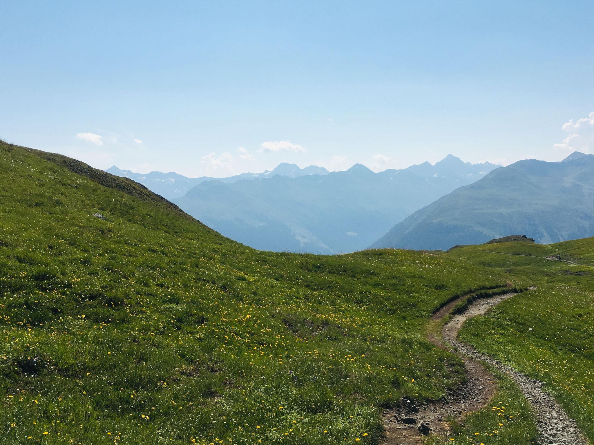 Panoramaweg, Davos, Graubünden