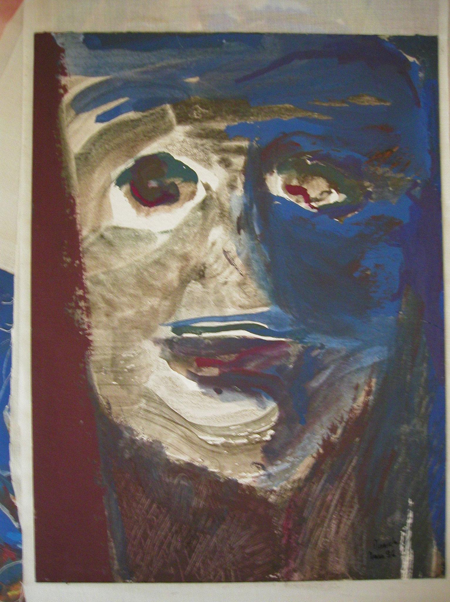 Gouache et aquarelle 24x32cm